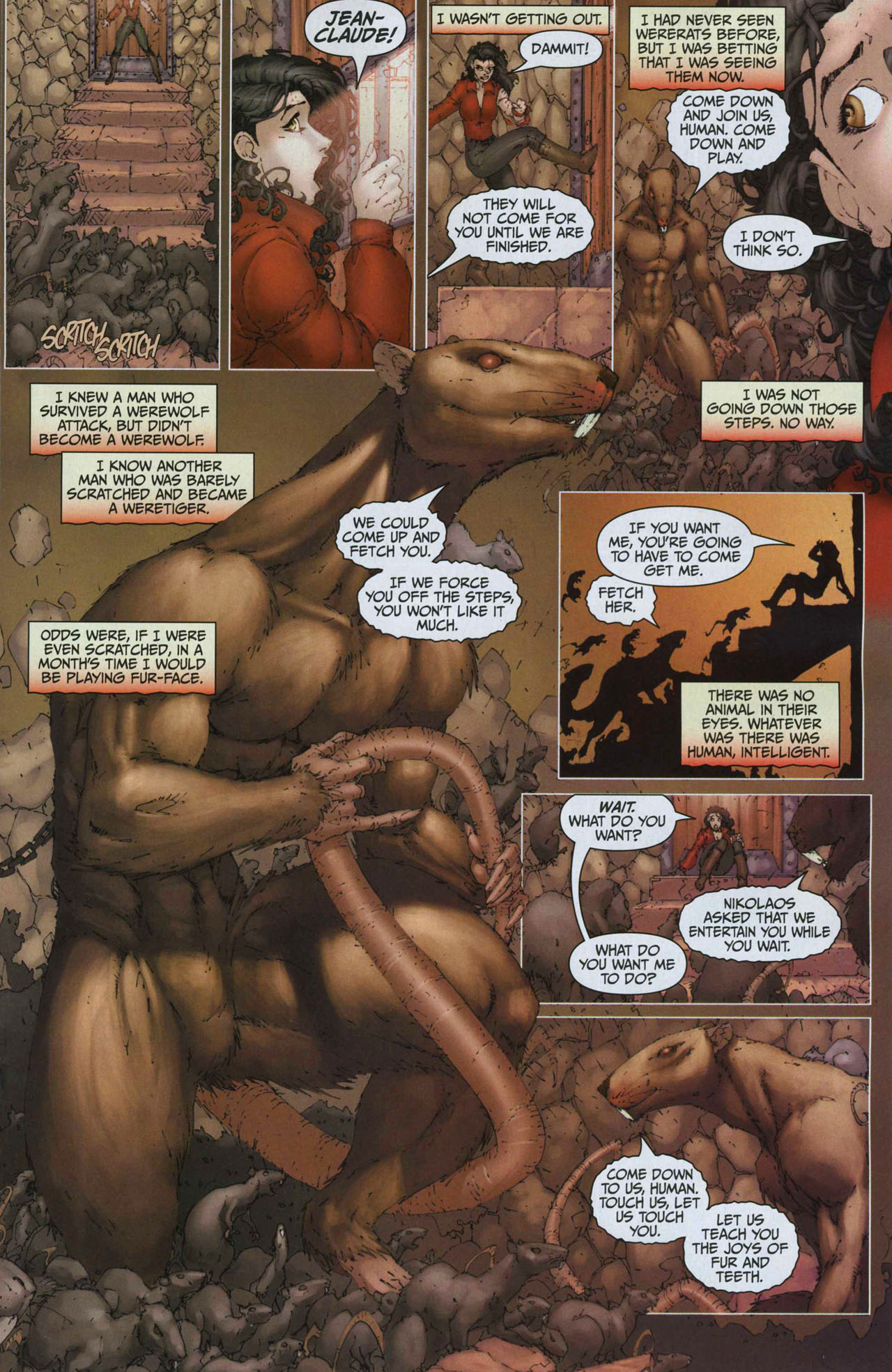 Read online Anita Blake, Vampire Hunter: Guilty Pleasures comic -  Issue #2 - 19