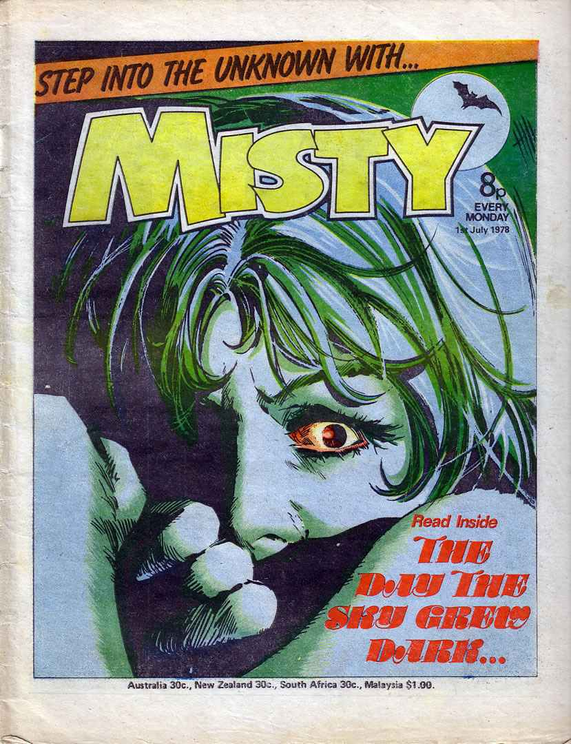 Read online Misty comic -  Issue #22 - 1