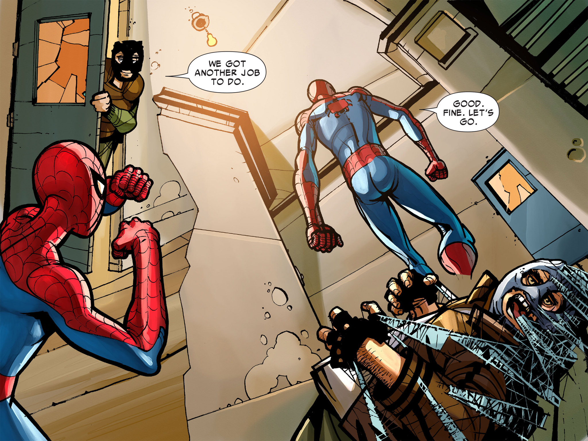 Read online Amazing Spider-Man: Who Am I? comic -  Issue # Full (Part 1) - 111