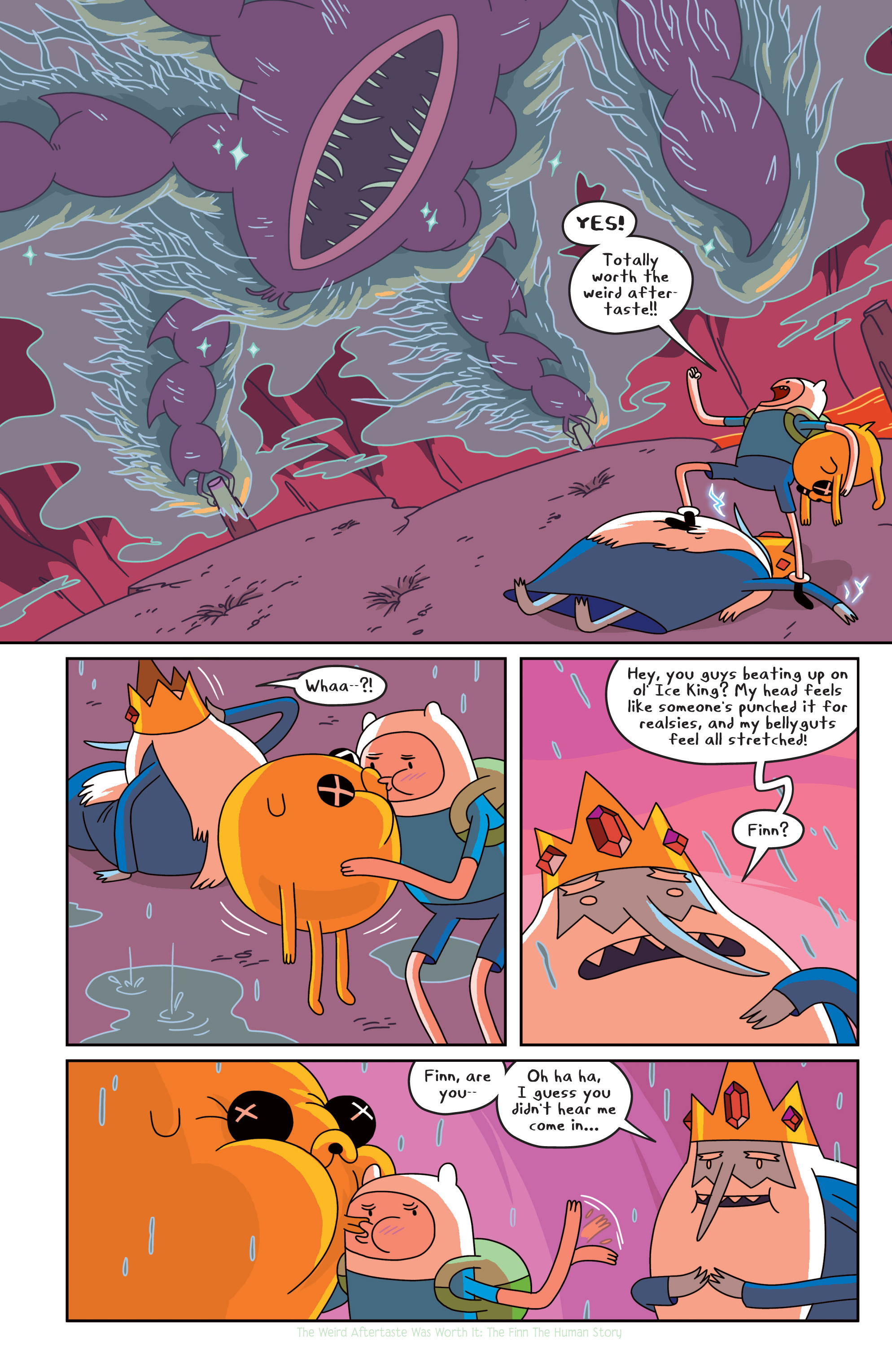 Read online Adventure Time comic -  Issue #18 - 10