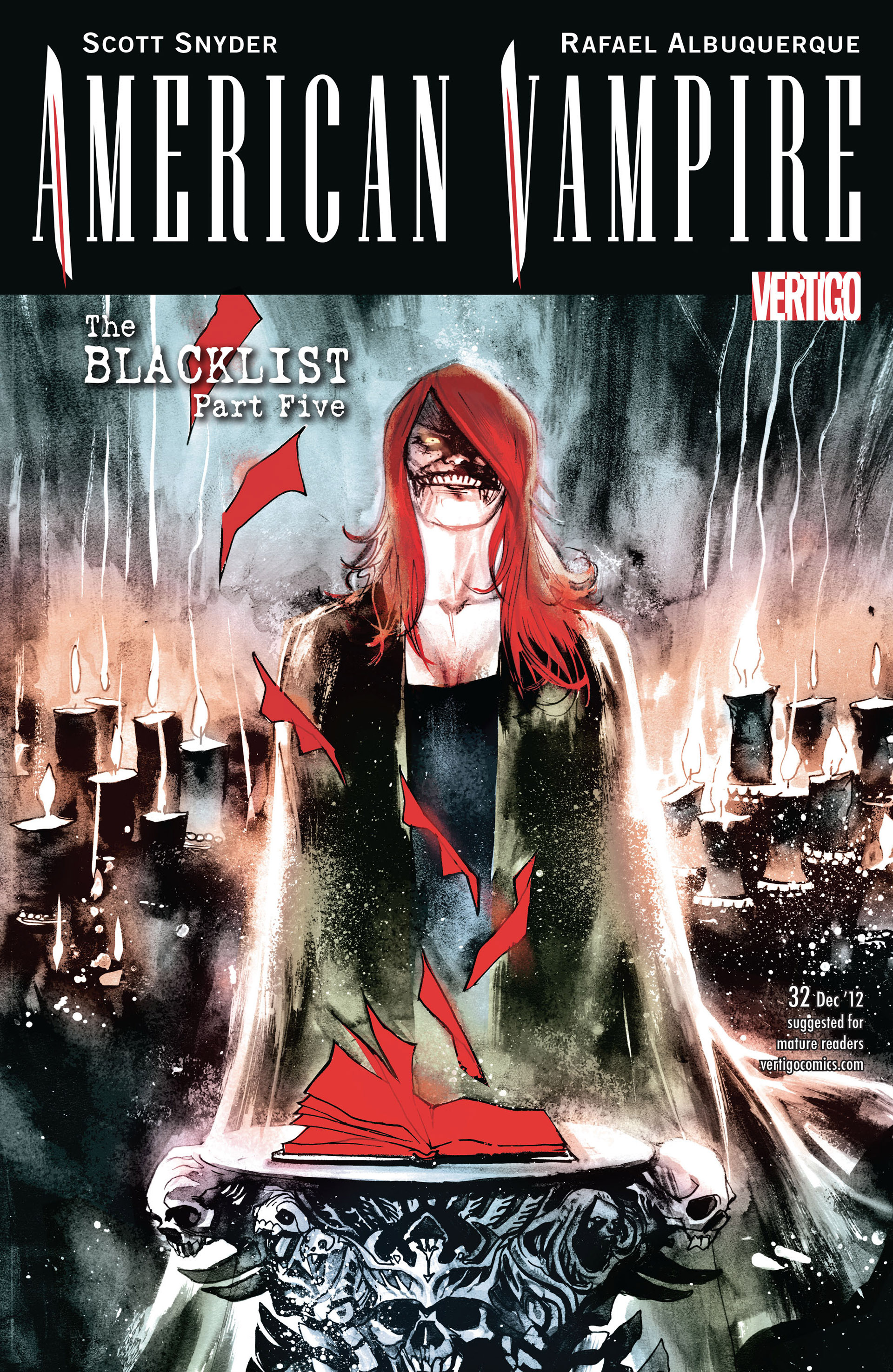 Read online American Vampire comic -  Issue #32 - 1