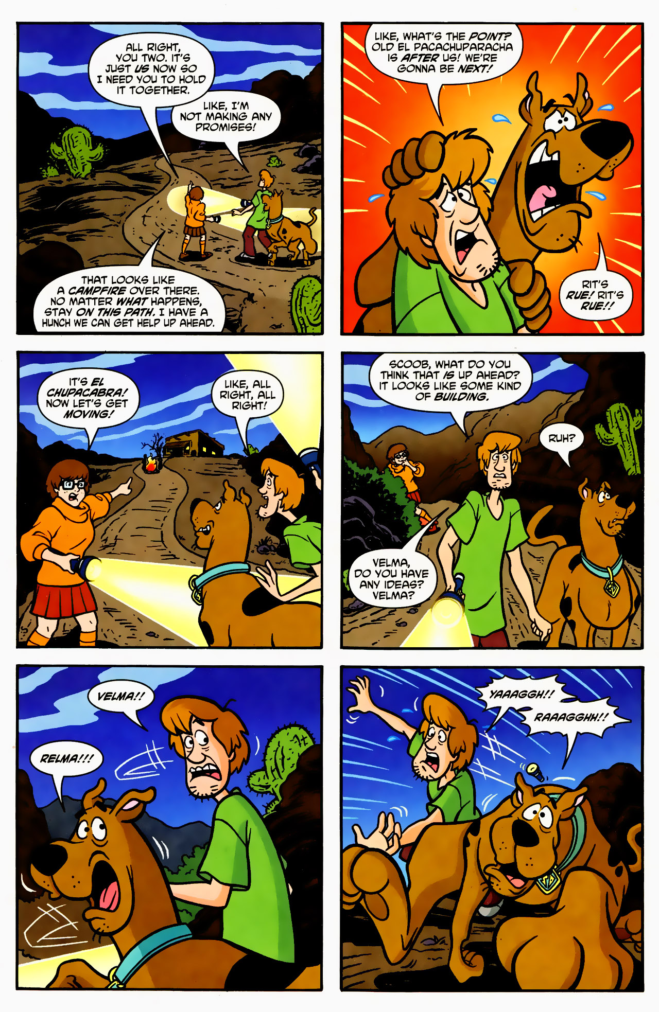 Read online Scooby-Doo (1997) comic -  Issue #130 - 7