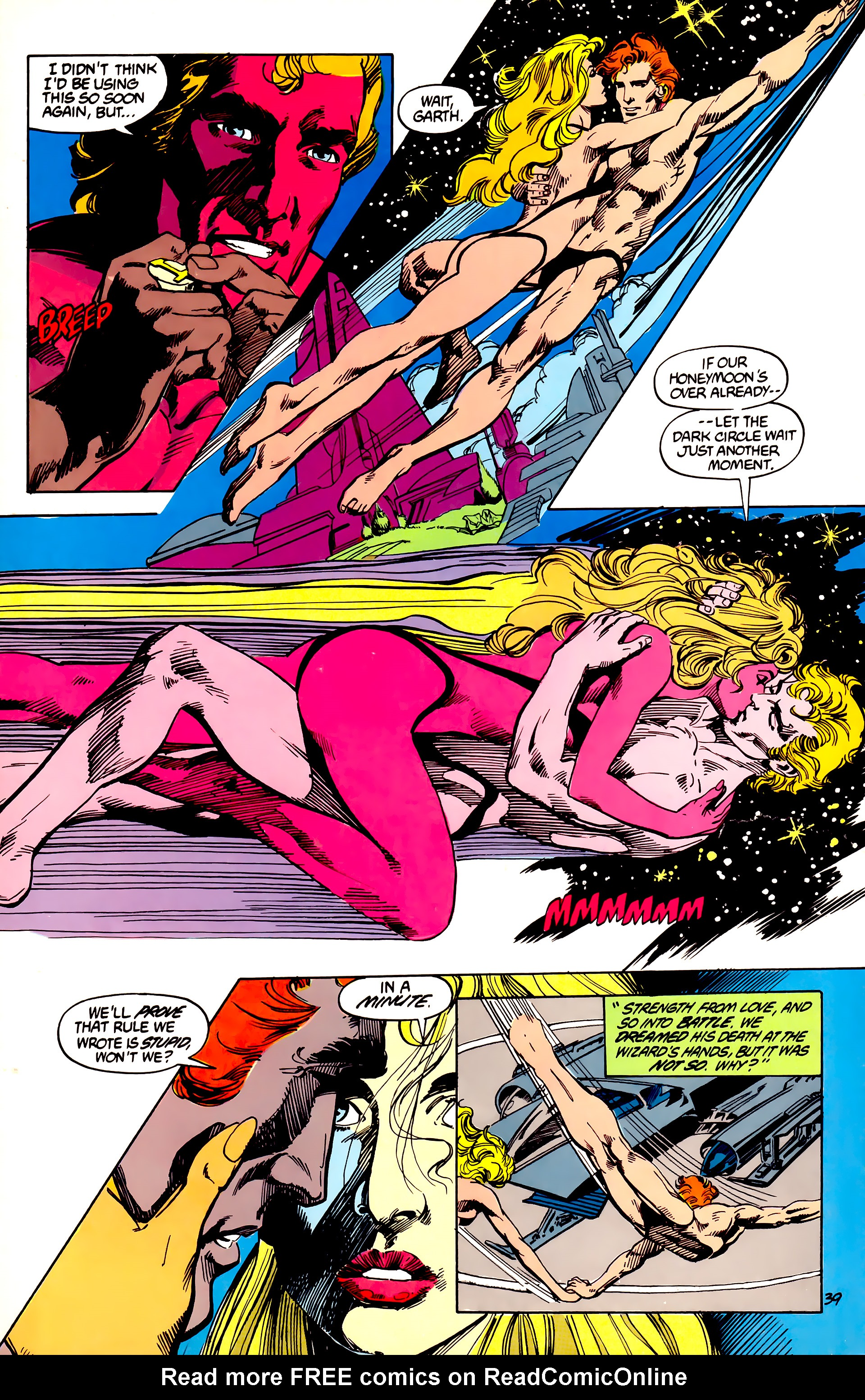Legion of Super-Heroes (1984) 45 Page 39