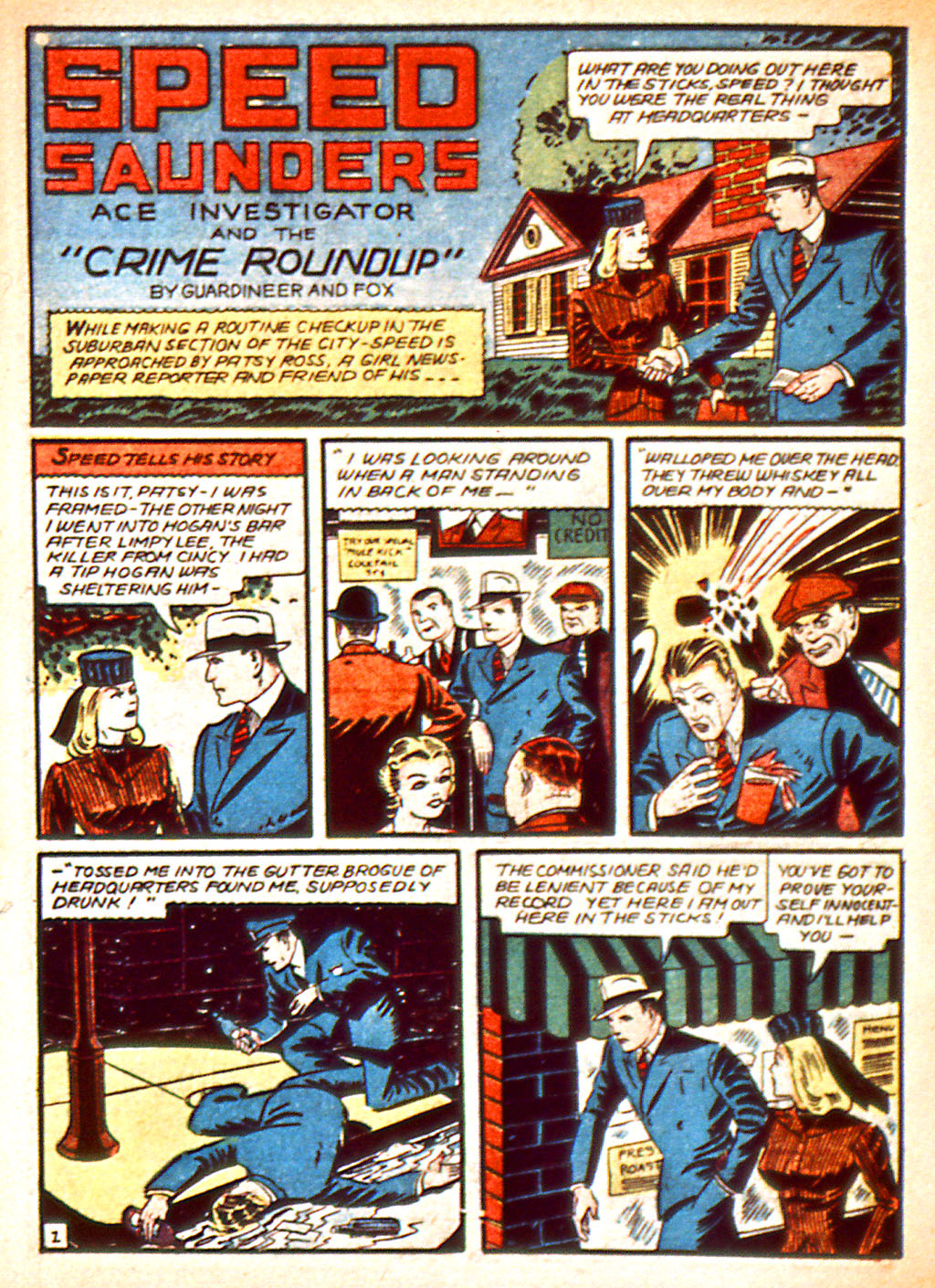 Read online Detective Comics (1937) comic -  Issue #37 - 37