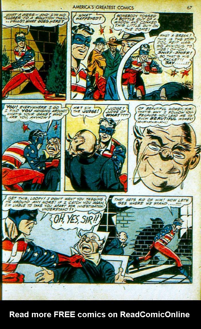 Read online America's Greatest Comics comic -  Issue #4 - 68