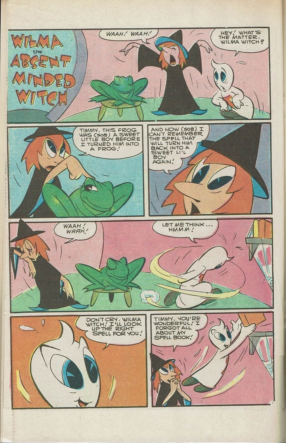 Read online Timmy the Timid Ghost comic -  Issue #26 - 10
