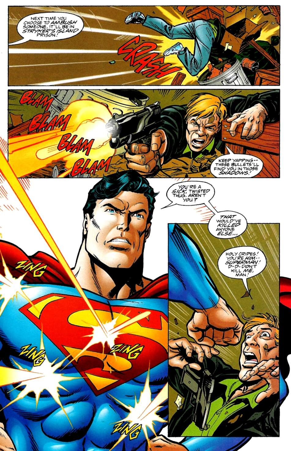 Read online Adventures of Superman (1987) comic -  Issue #561 - 18