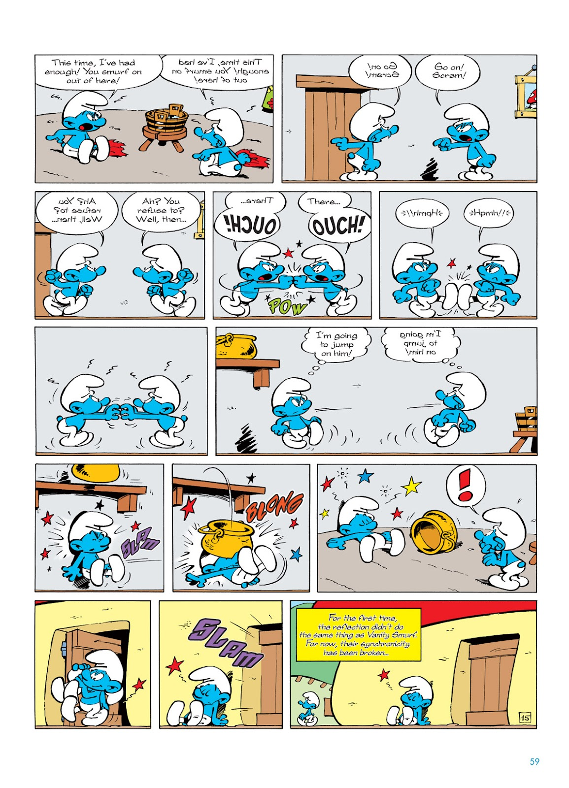 Read online The Smurfs comic -  Issue #5 - 59