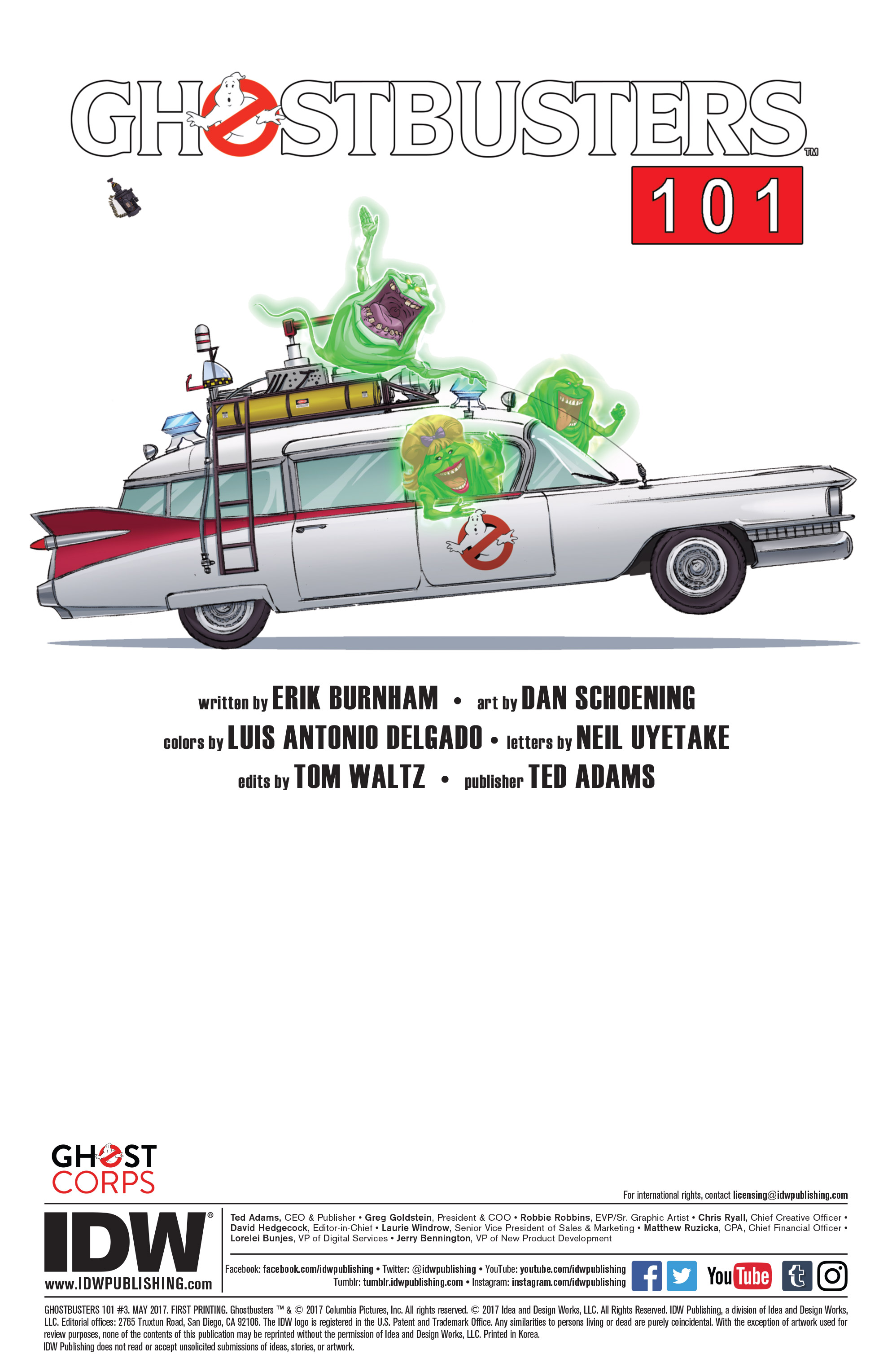 Read online Ghostbusters 101 comic -  Issue #3 - 2