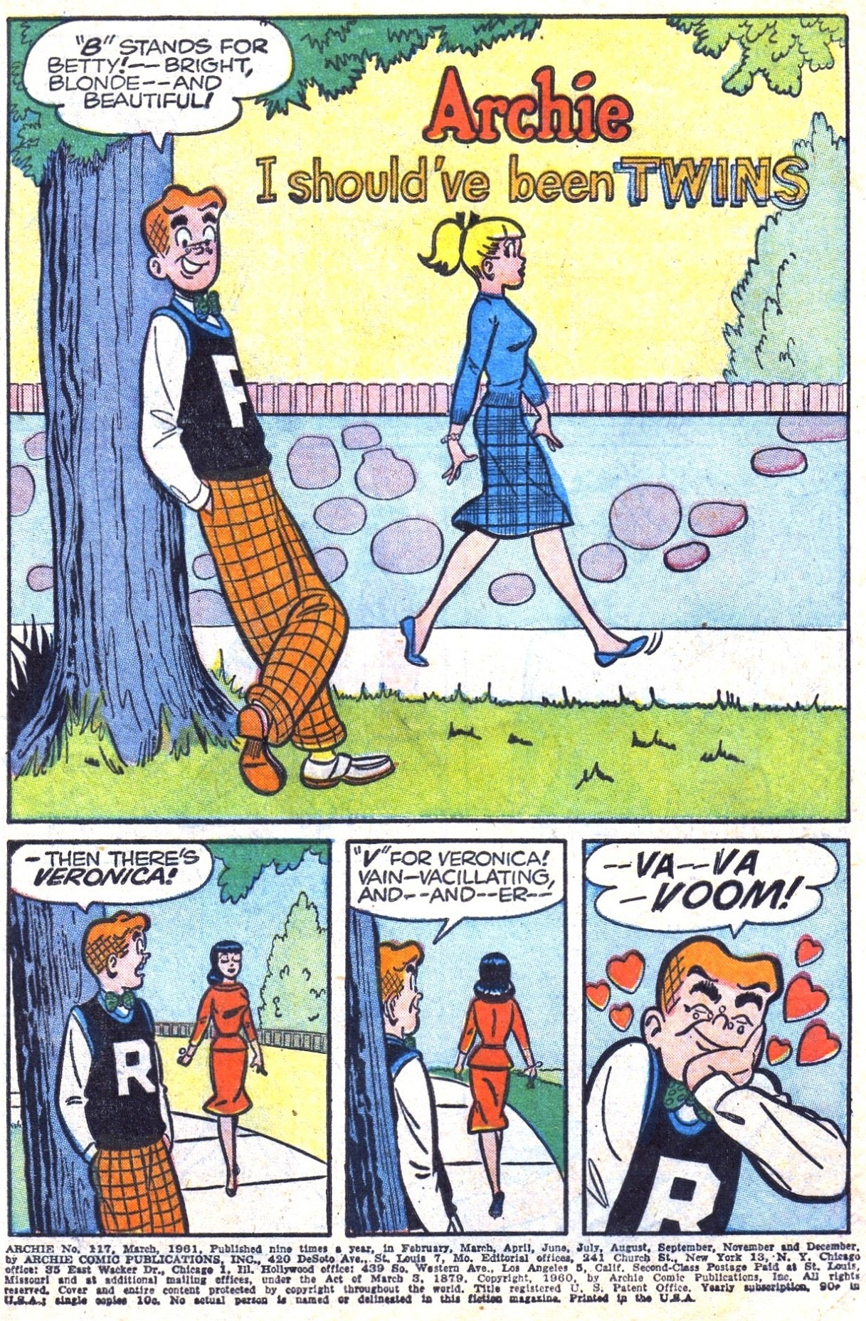 Read online Archie (1960) comic -  Issue #117 - 3