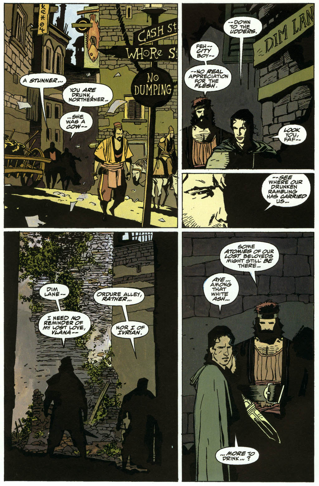 Read online Fafhrd and the Gray Mouser comic -  Issue #3 - 4