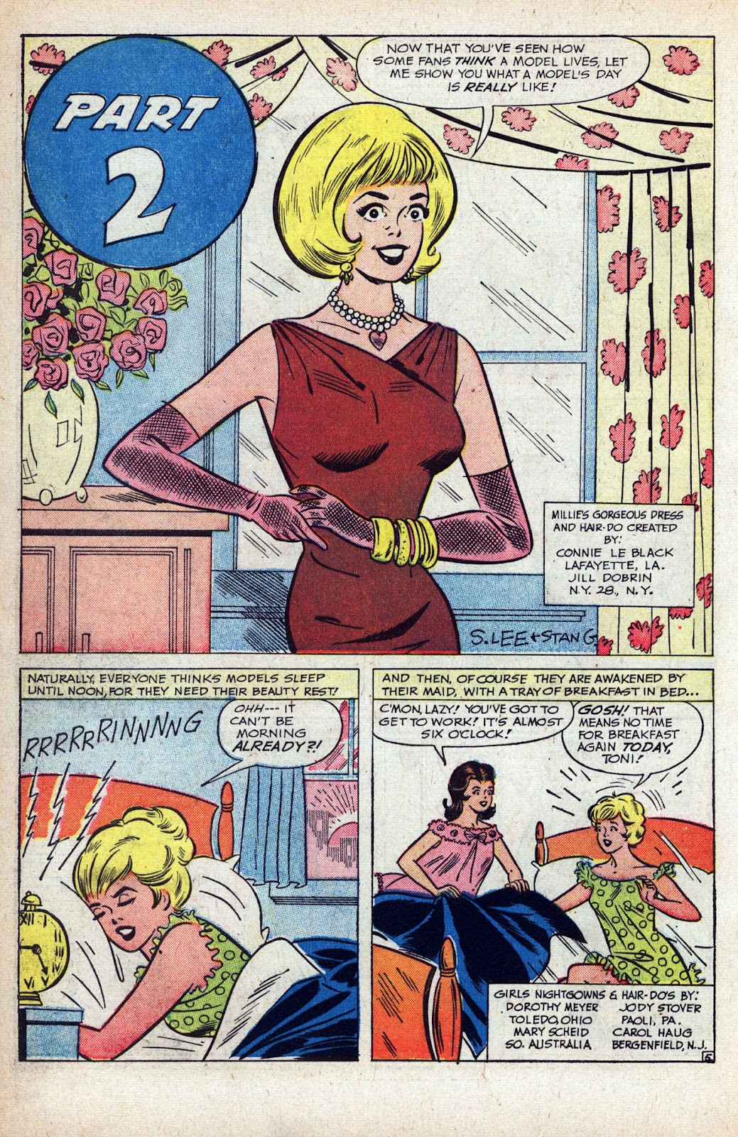 Read online Millie the Model comic -  Issue # Annual 1 - 36