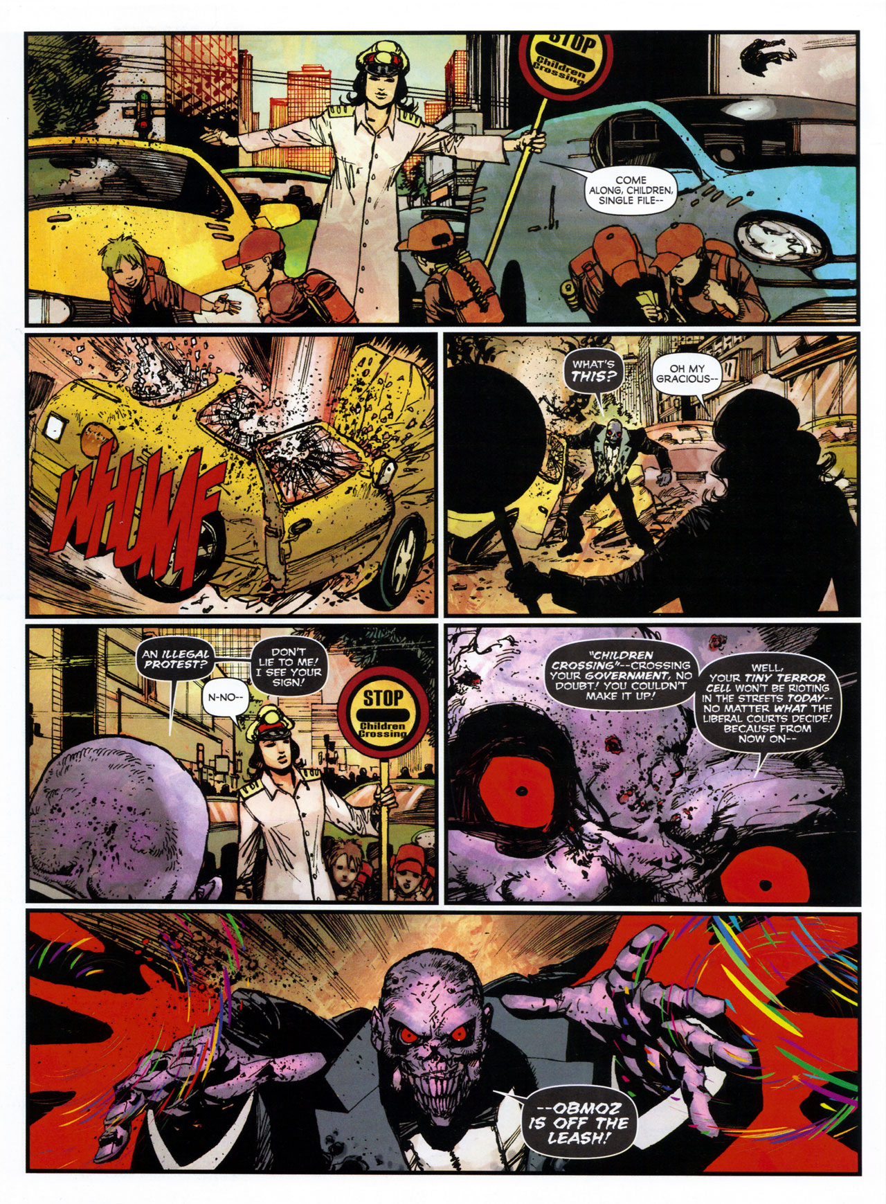 Read online 2000 AD comic -  Issue #1746 - 113