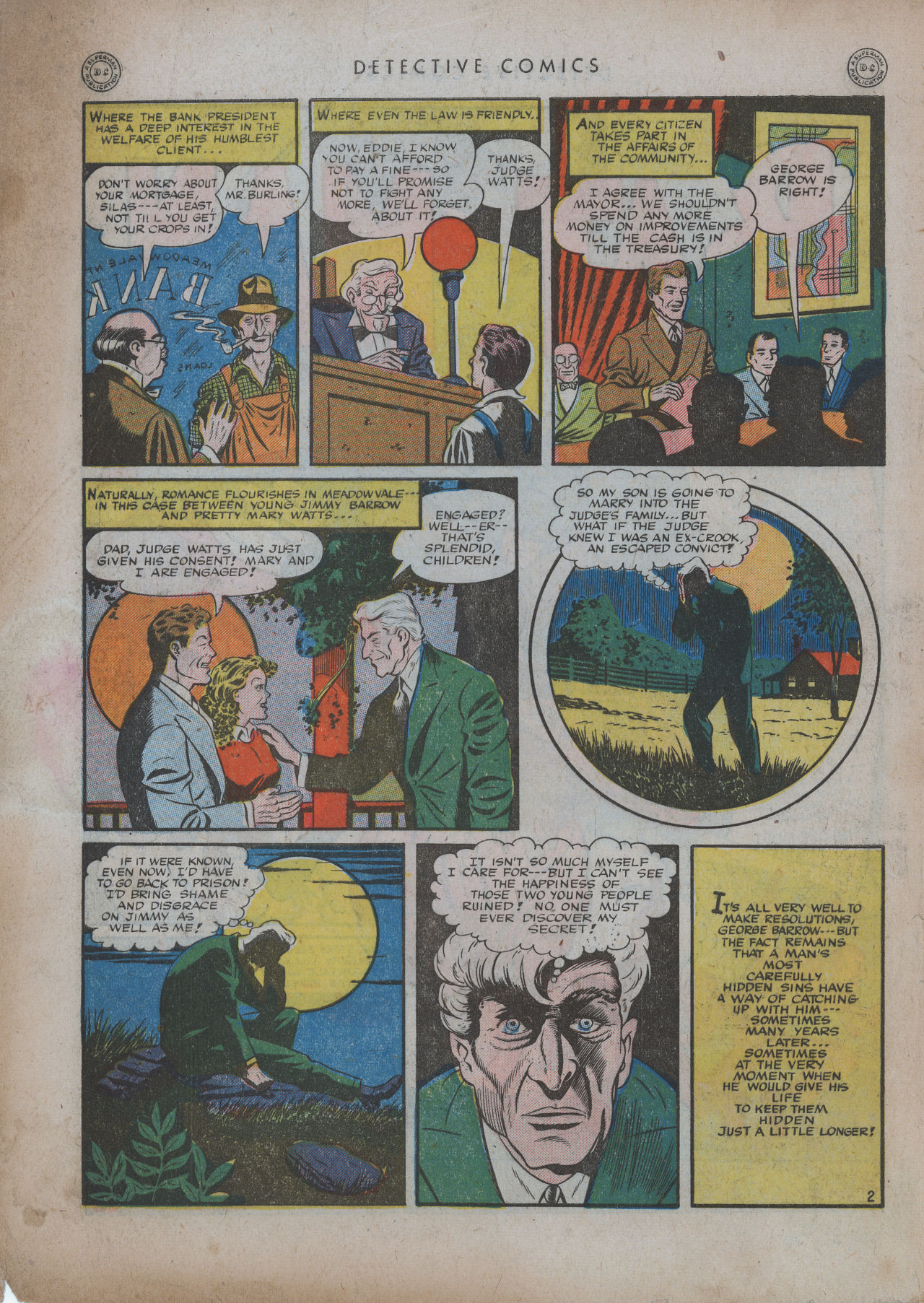 Read online Detective Comics (1937) comic -  Issue #94 - 4