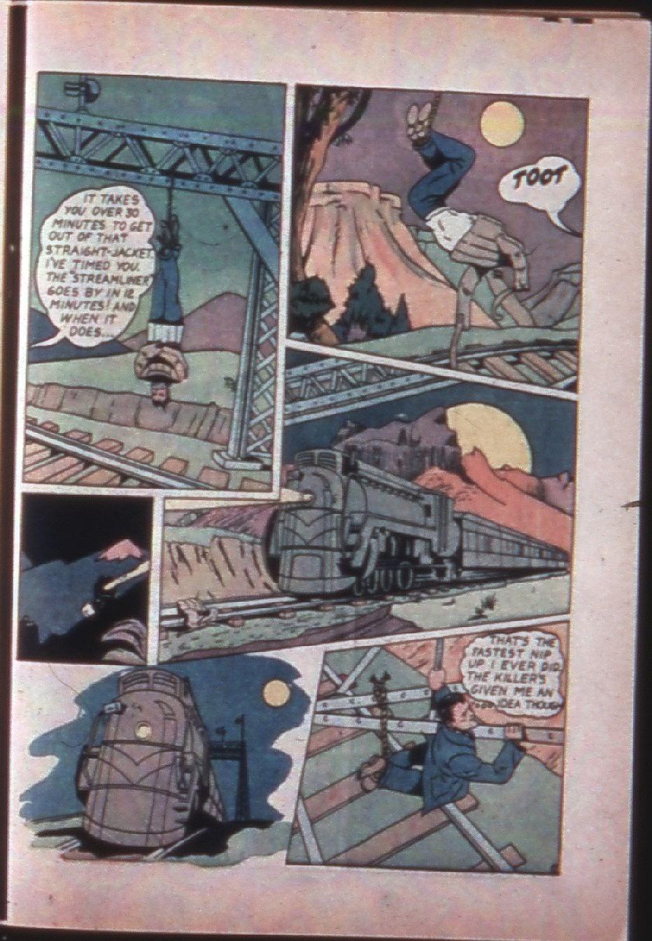 Read online Super-Magician Comics comic -  Issue #7 - 54
