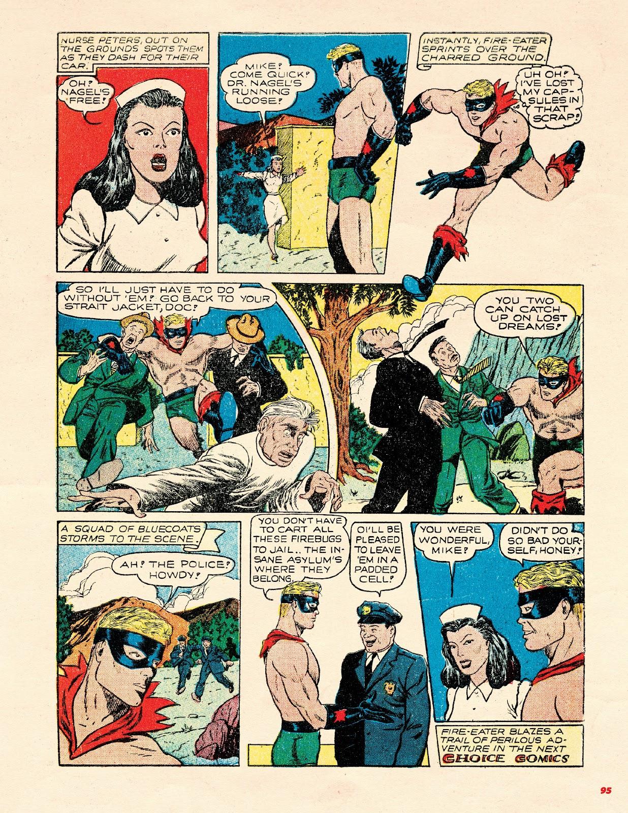 Read online Super Weird Heroes comic -  Issue # TPB 2 (Part 1) - 95