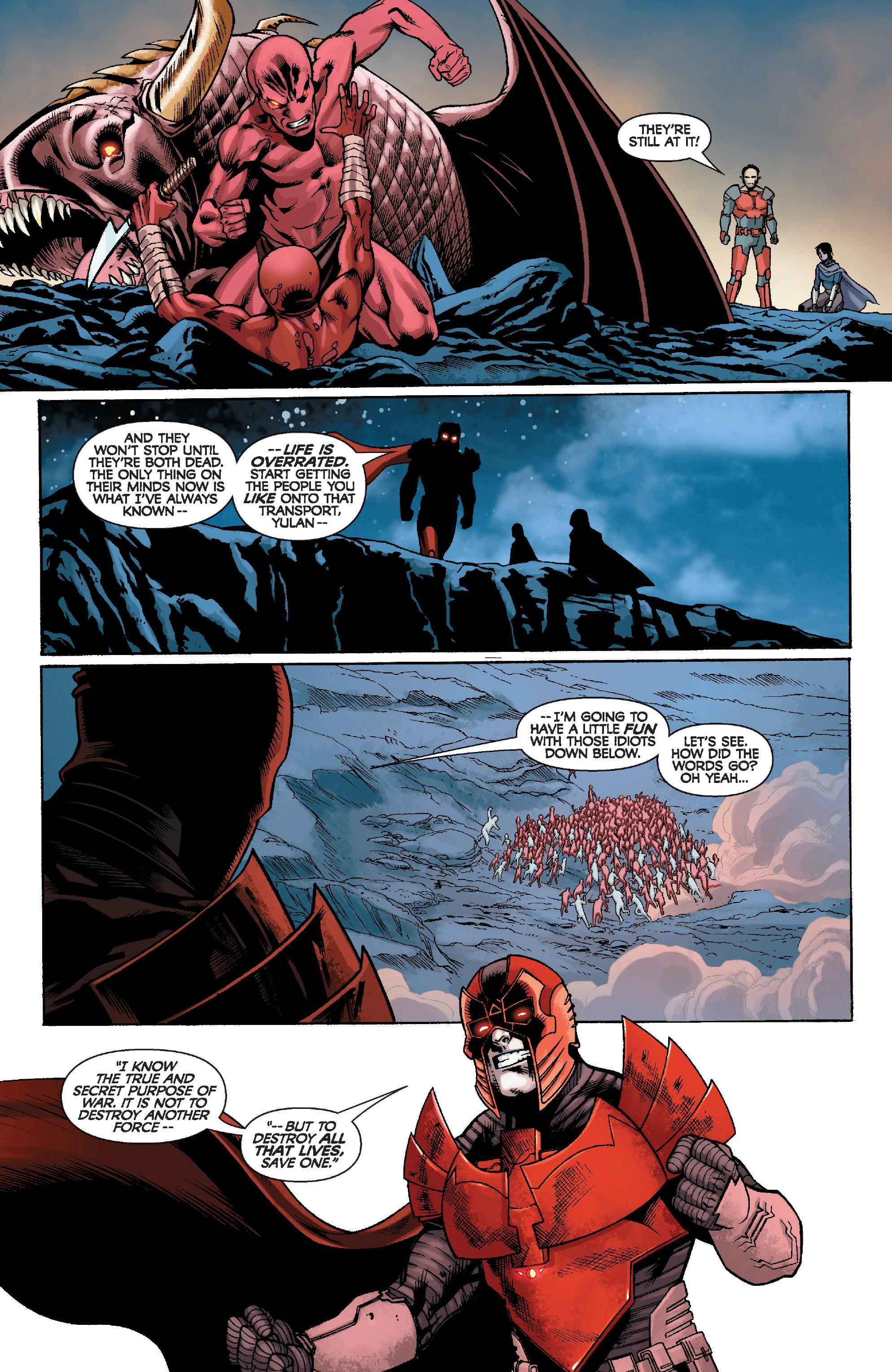 Read online Star Wars: Knight Errant - Escape comic -  Issue #4 - 11