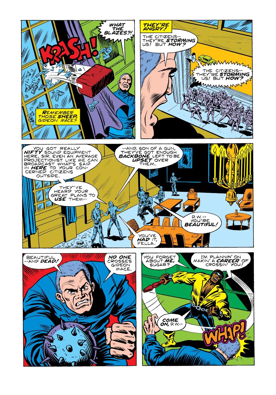 Read online Marvel Masterworks: Luke Cage, Power Man comic -  Issue # TPB 2 (Part 2) - 40