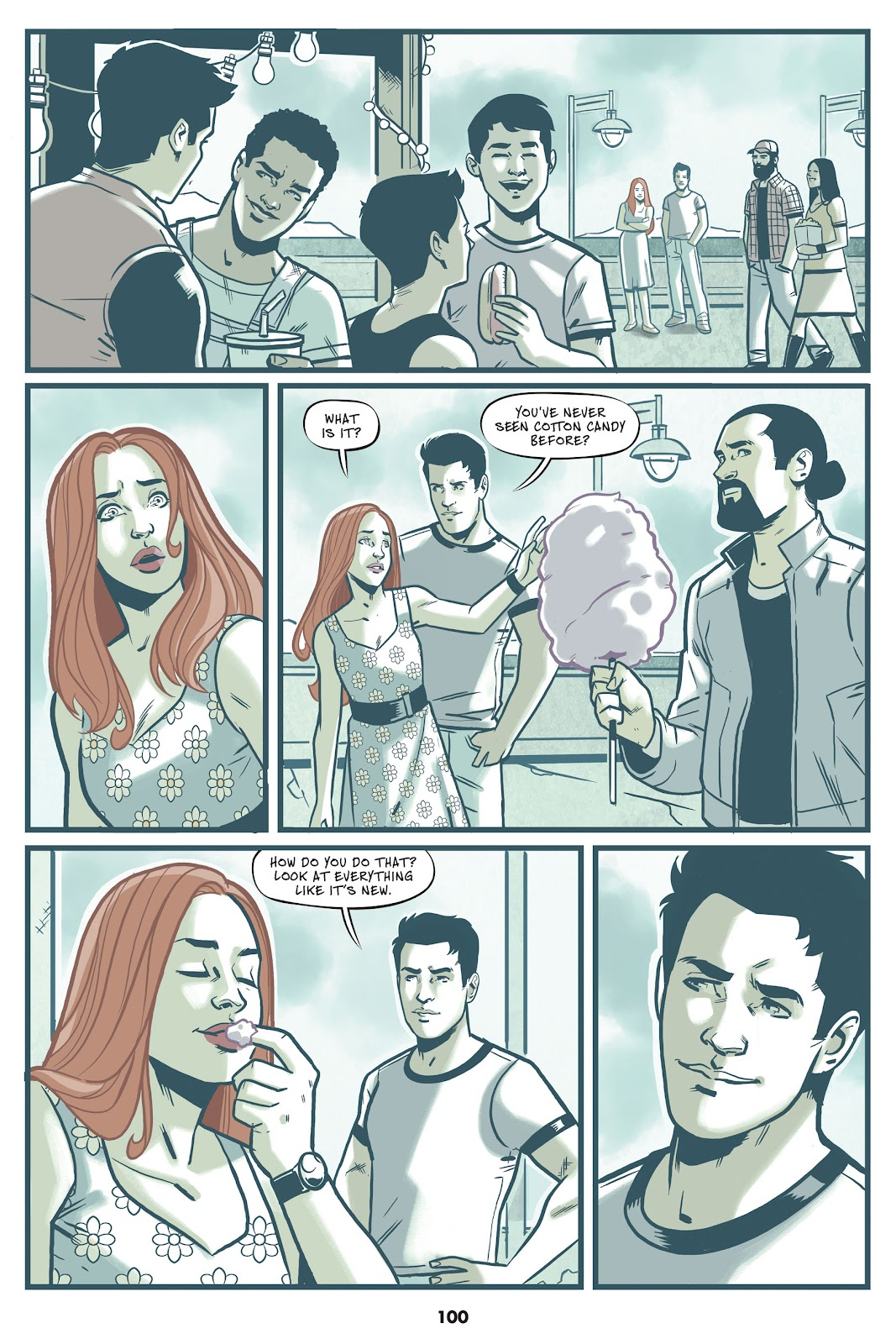 Read online Mera: Tidebreaker comic -  Issue # TPB (Part 1) - 100