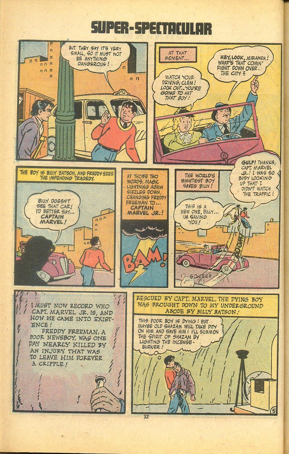 Read online Shazam! (1973) comic -  Issue #8 - 32