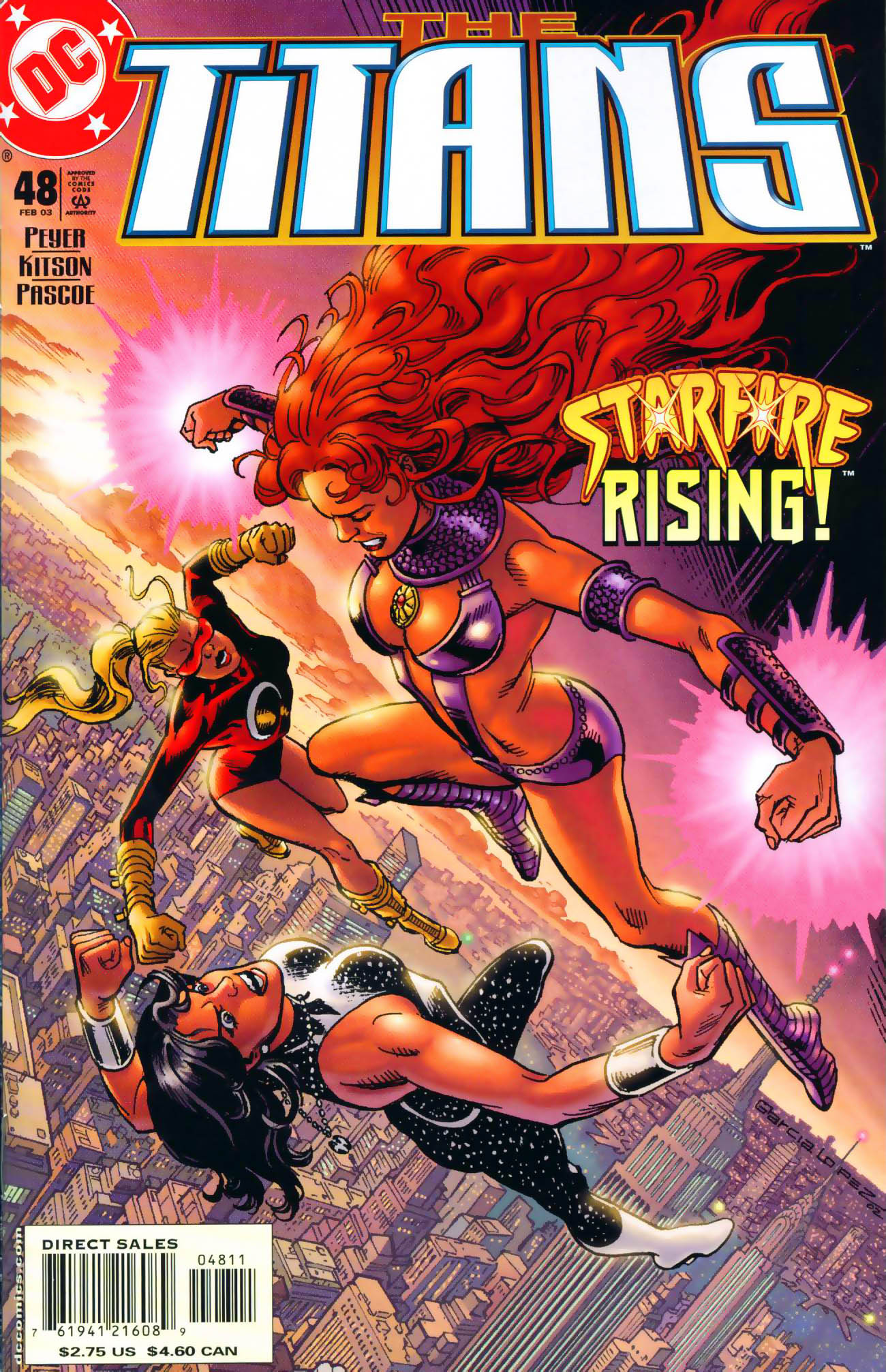 Read online The Titans (1999) comic -  Issue #48 - 1
