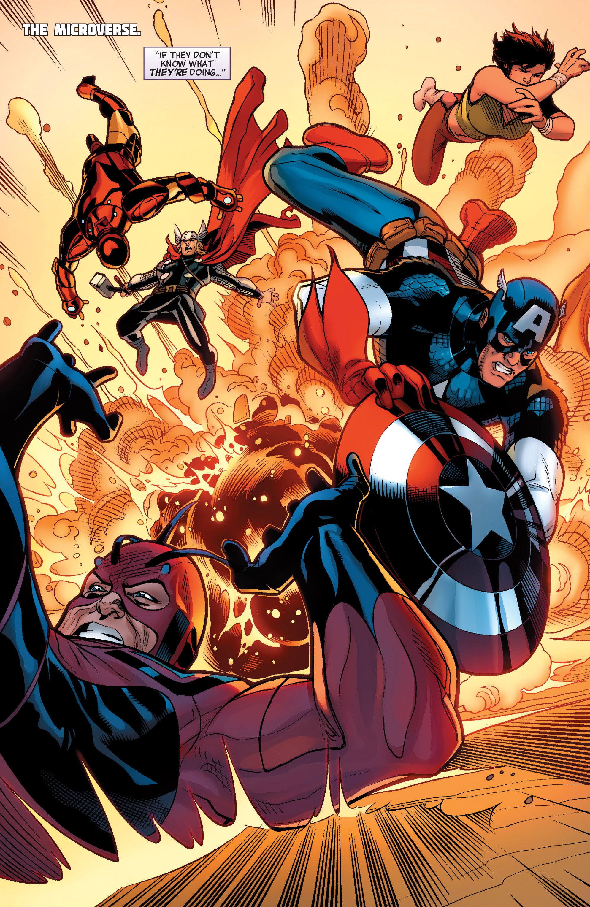 Read online Avengers (2010) comic -  Issue #33 - 4