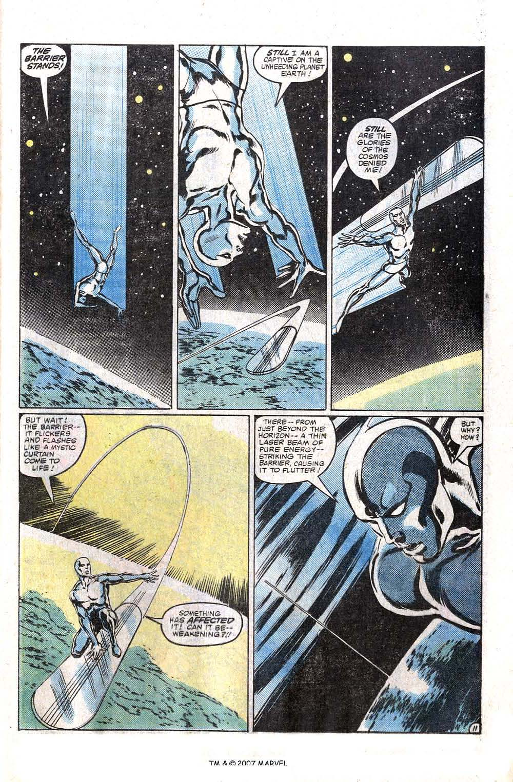 Read online Silver Surfer (1982) comic -  Issue # Full - 13
