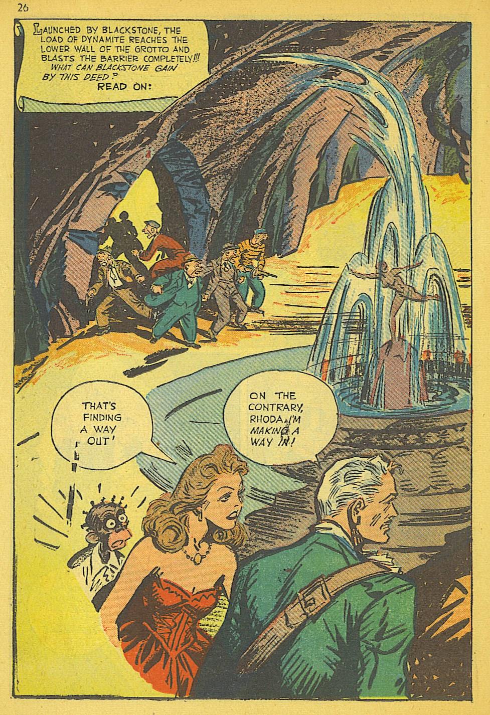 Read online Super-Magician Comics comic -  Issue #19 - 26