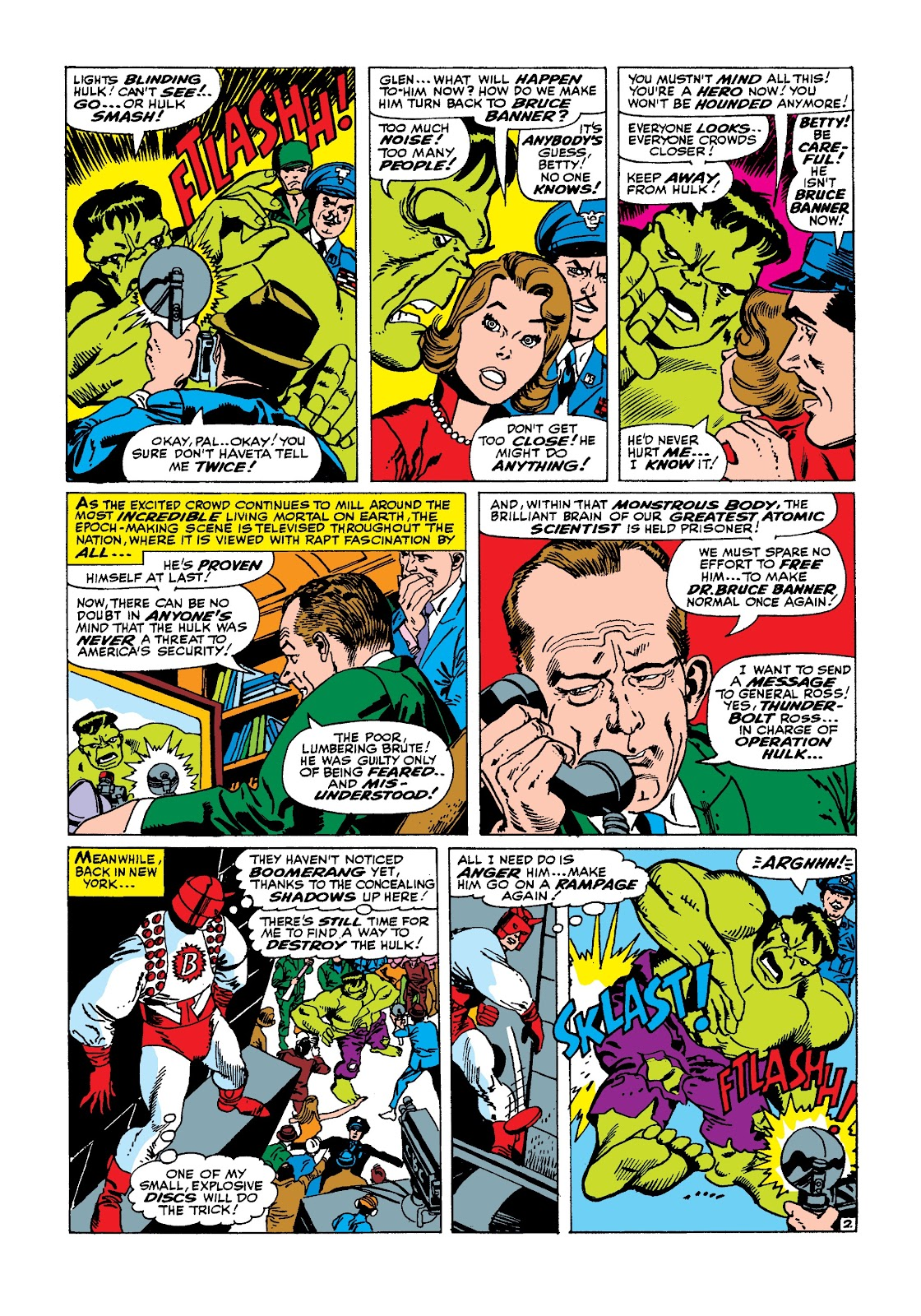 Read online Marvel Masterworks: The Incredible Hulk comic -  Issue # TPB 3 (Part 1) - 97