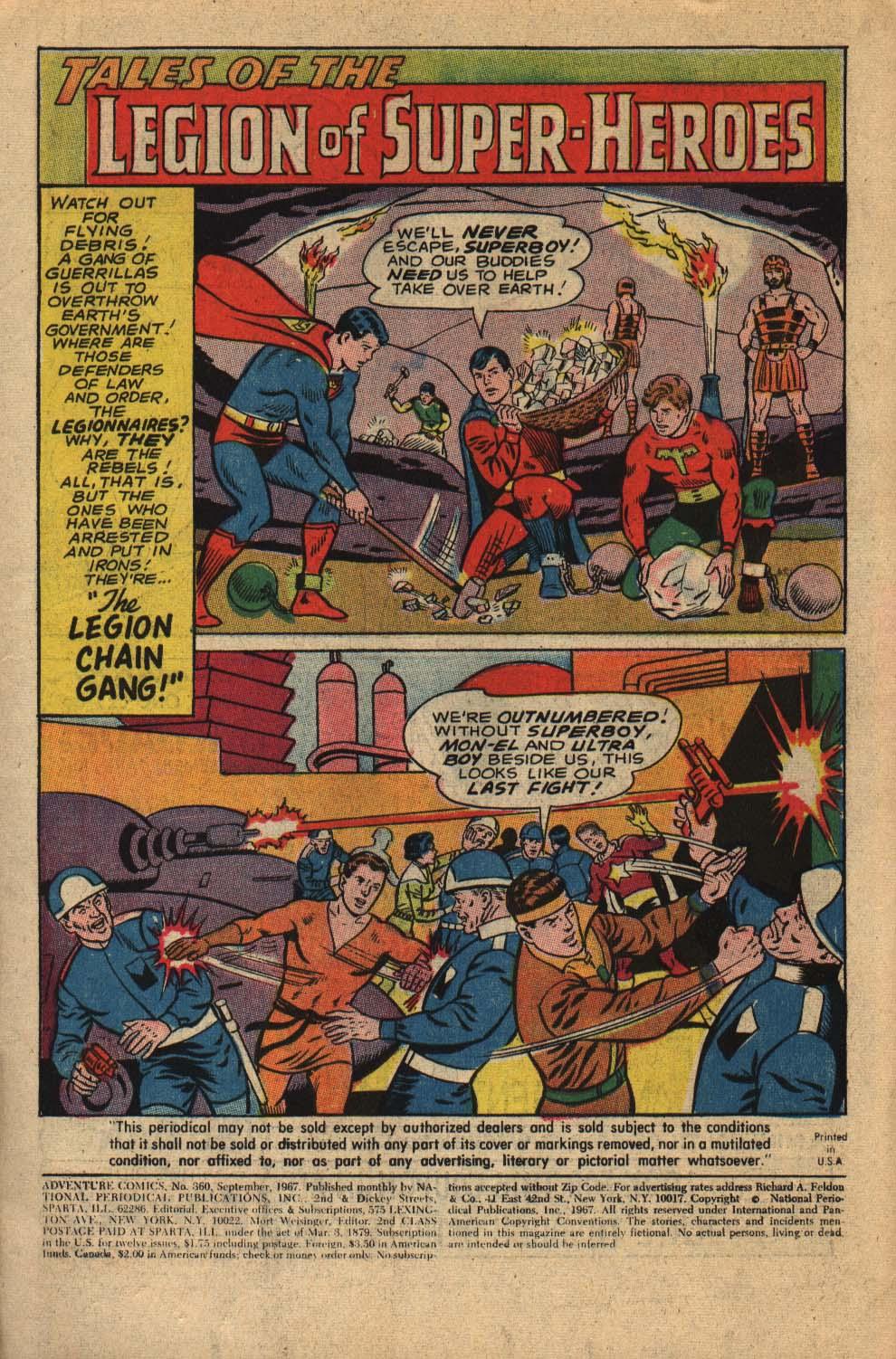 Read online Adventure Comics (1938) comic -  Issue #360 - 3