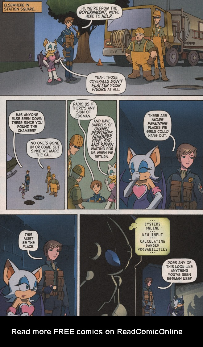Read online Sonic X comic -  Issue #7 - 14