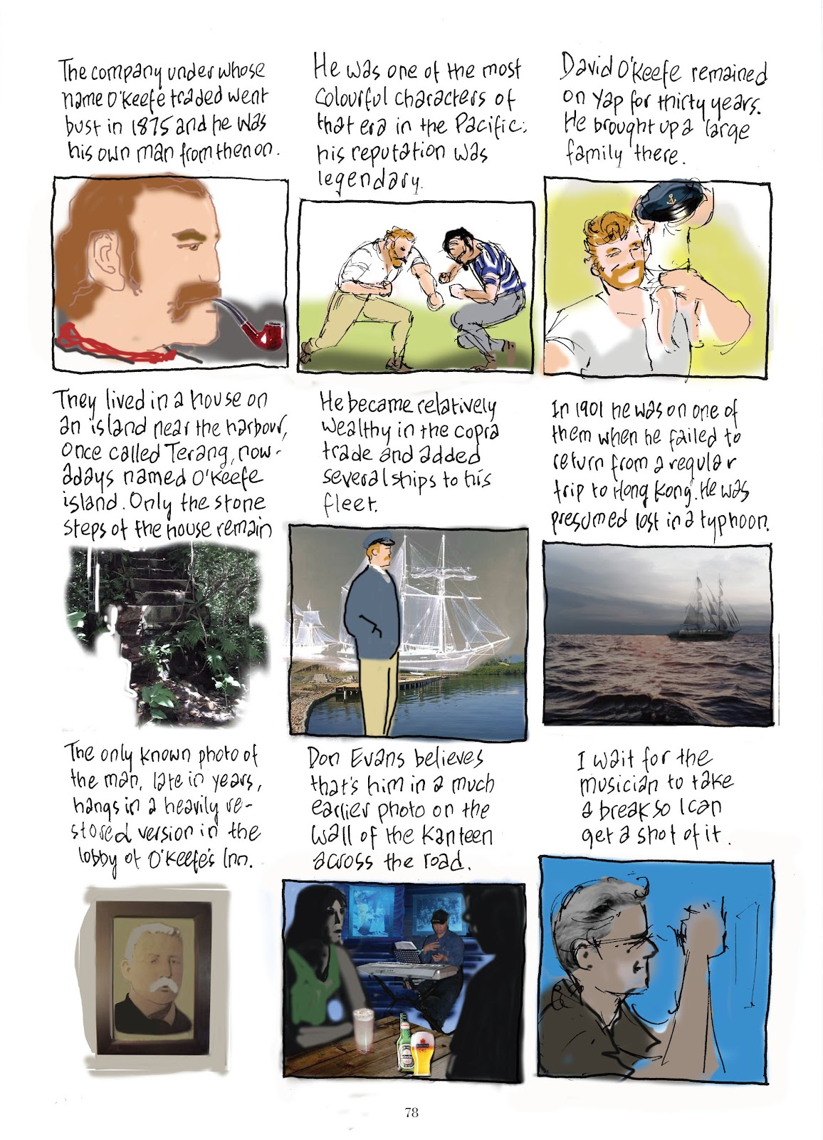 Read online The Lovely Horrible Stuff comic -  Issue # TPB - 80