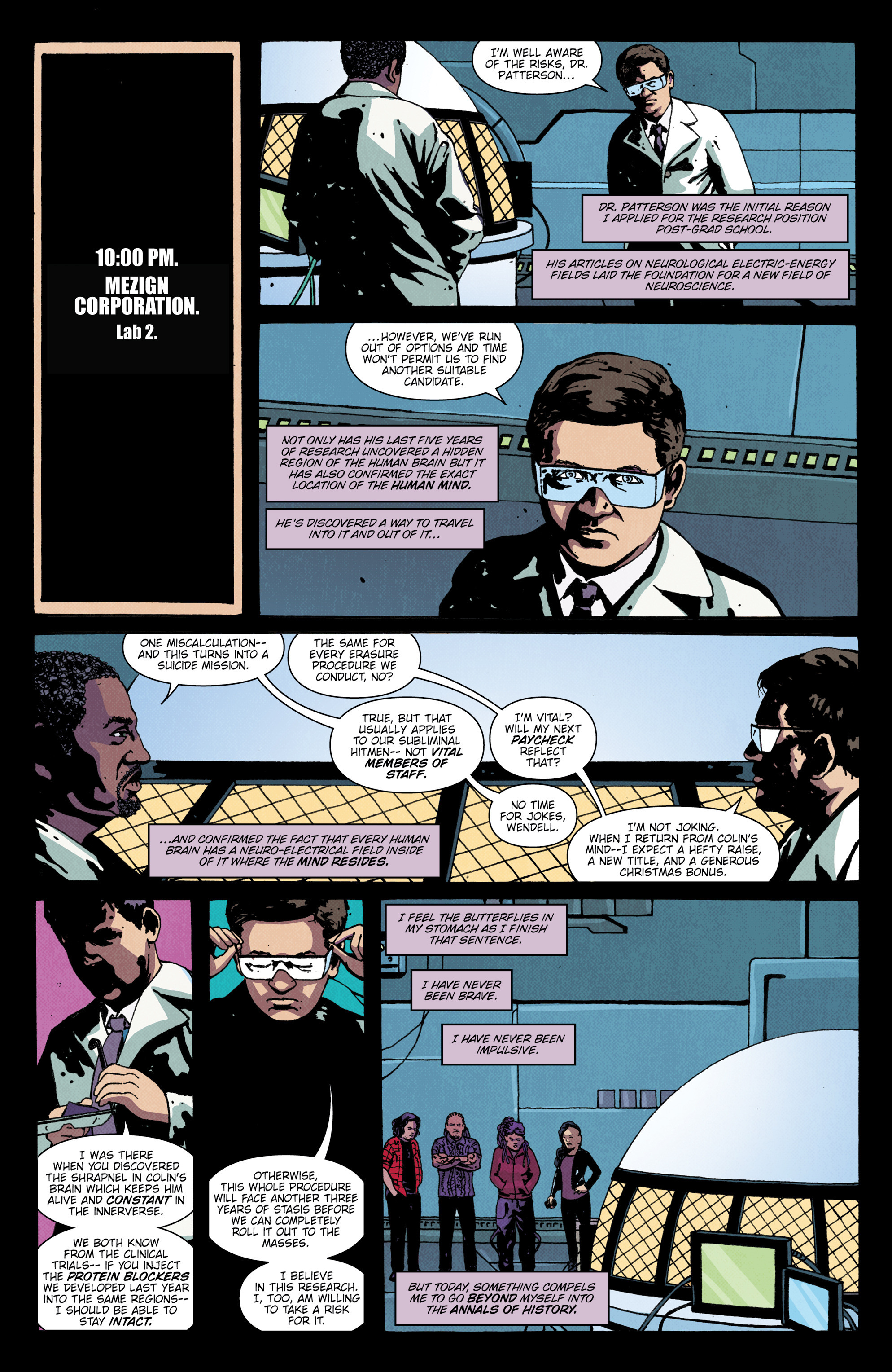 Read online X'ed comic -  Issue #4 - 6