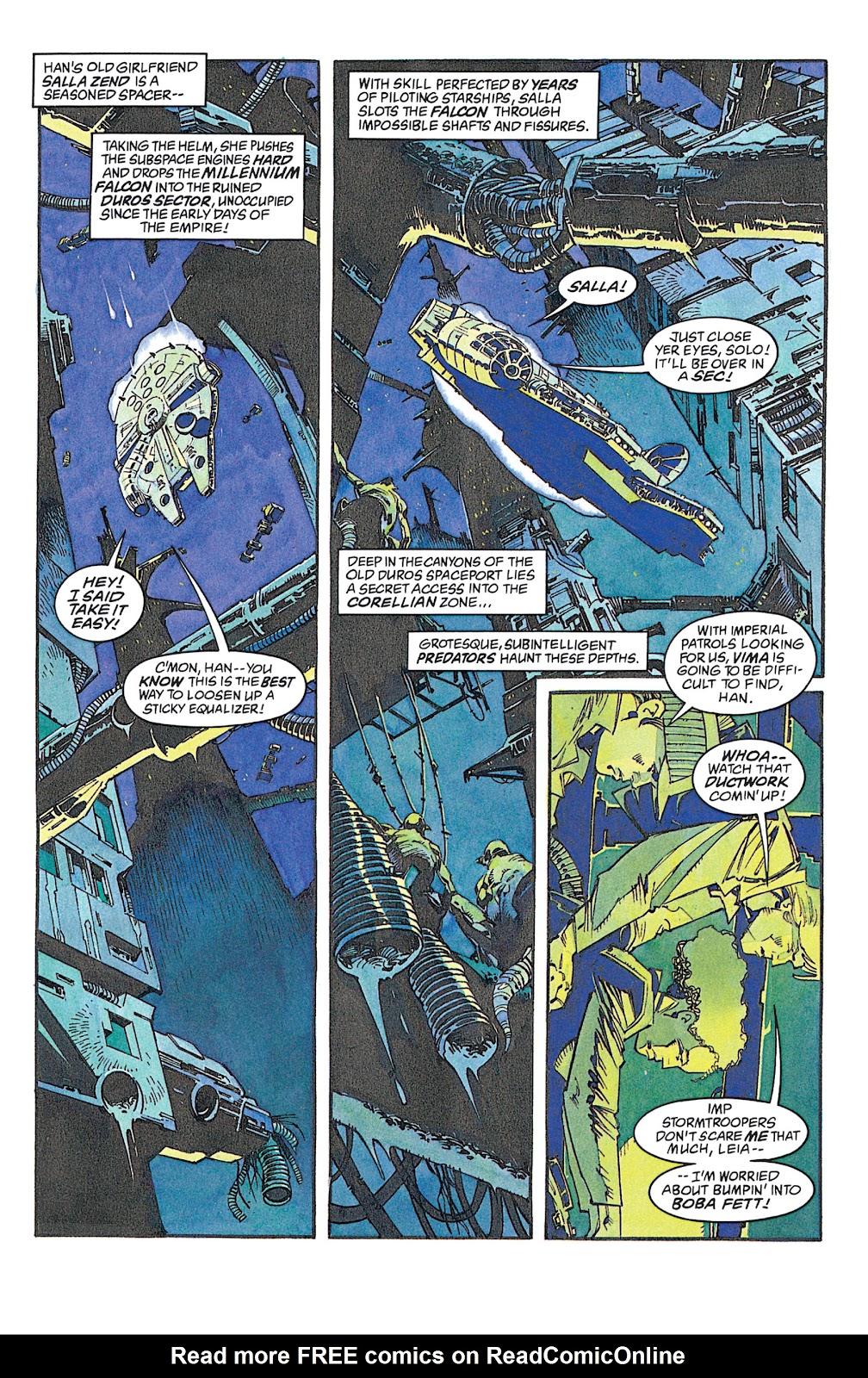 Read online Star Wars: Dark Empire Trilogy comic -  Issue # TPB (Part 2) - 84