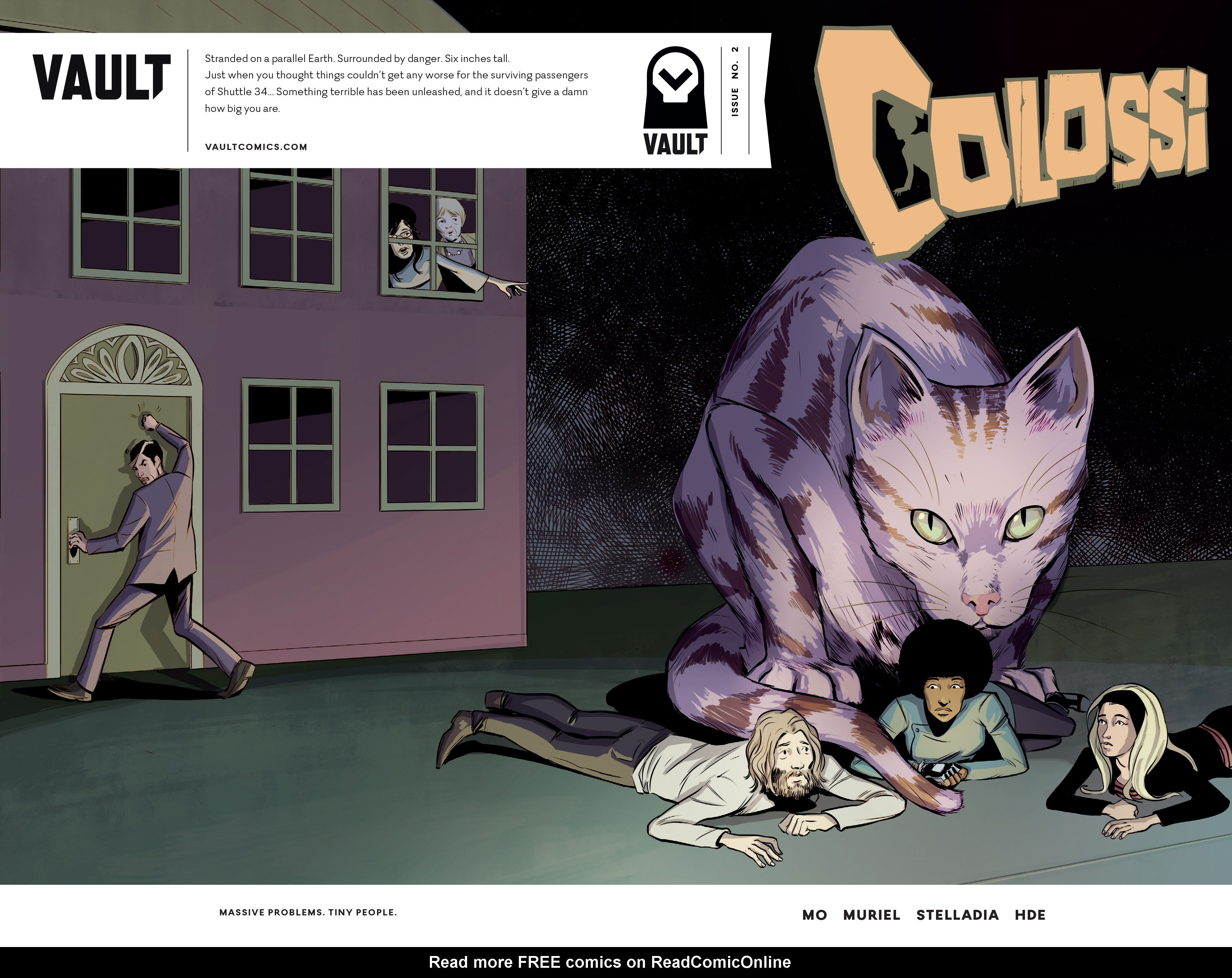 Read online Colossi comic -  Issue #2 - 1