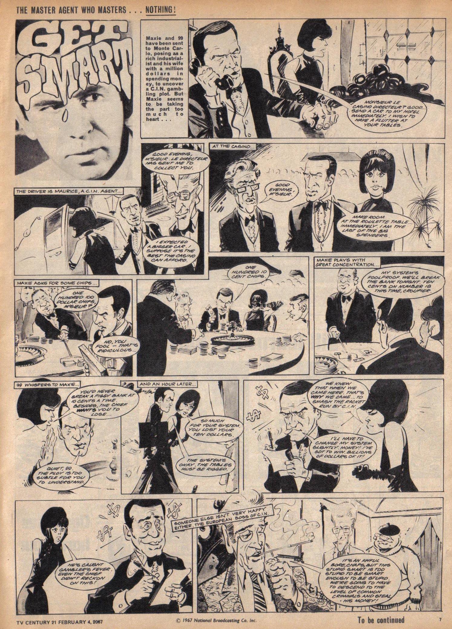 Read online TV Century 21 (TV 21) comic -  Issue #107 - 7
