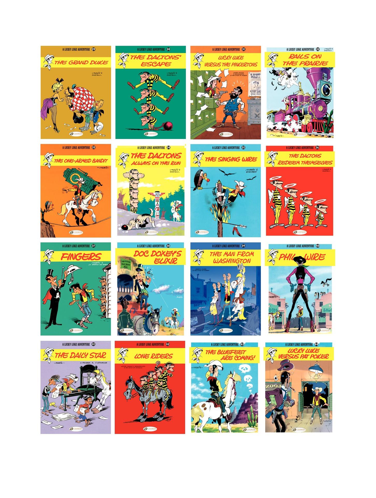 Read online A Lucky Luke Adventure comic -  Issue #55 - 46
