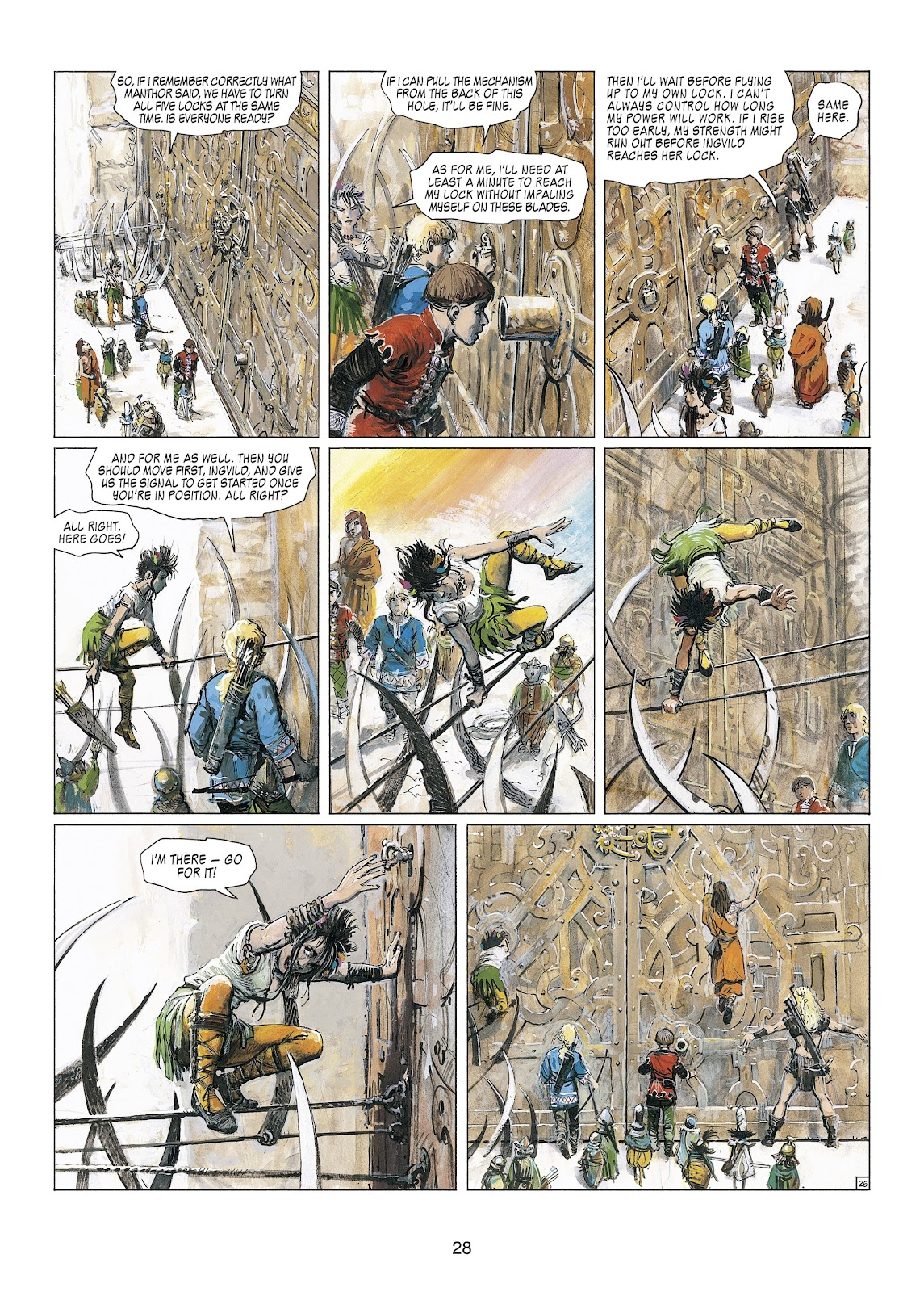 Read online Thorgal comic -  Issue #23 - 30
