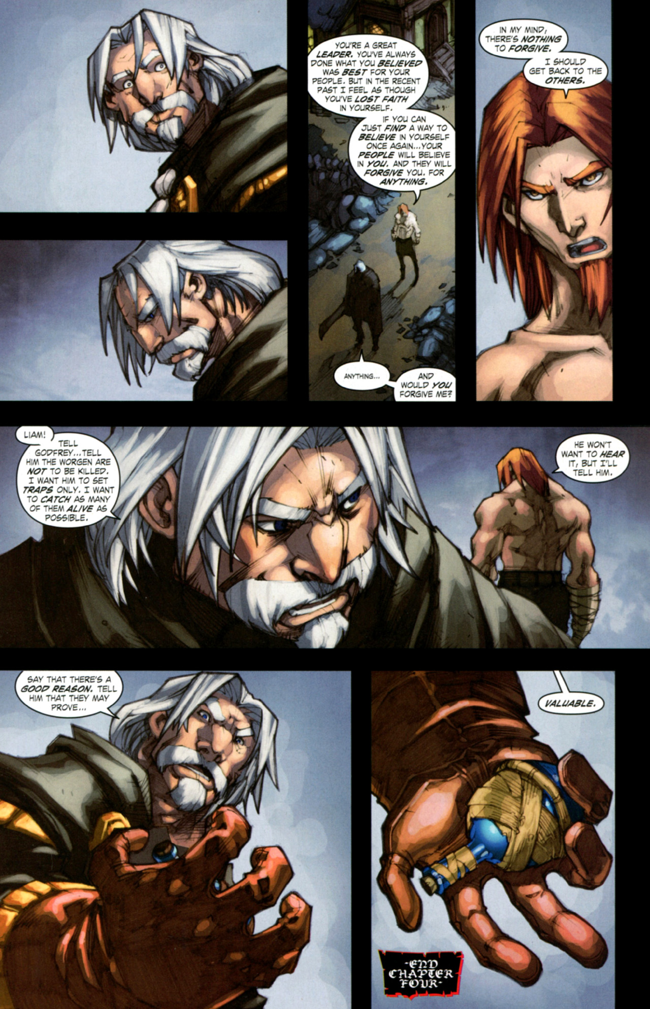 Read online World of Warcraft: Curse of the Worgen comic -  Issue #4 - 29