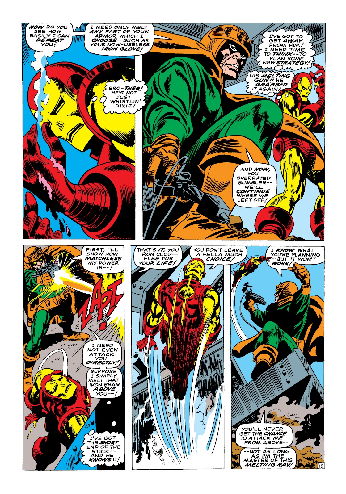 Read online Marvel Masterworks: The Invincible Iron Man comic -  Issue # TPB 4 (Part 1) - 81