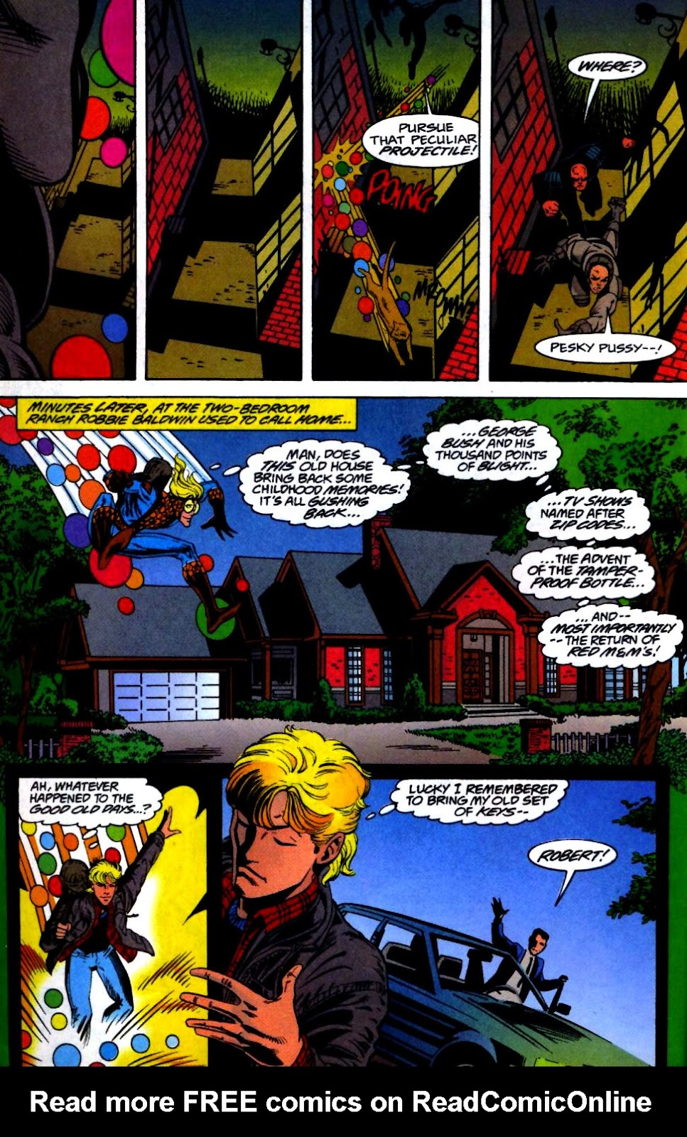The New Warriors Issue #66 #70 - English 5