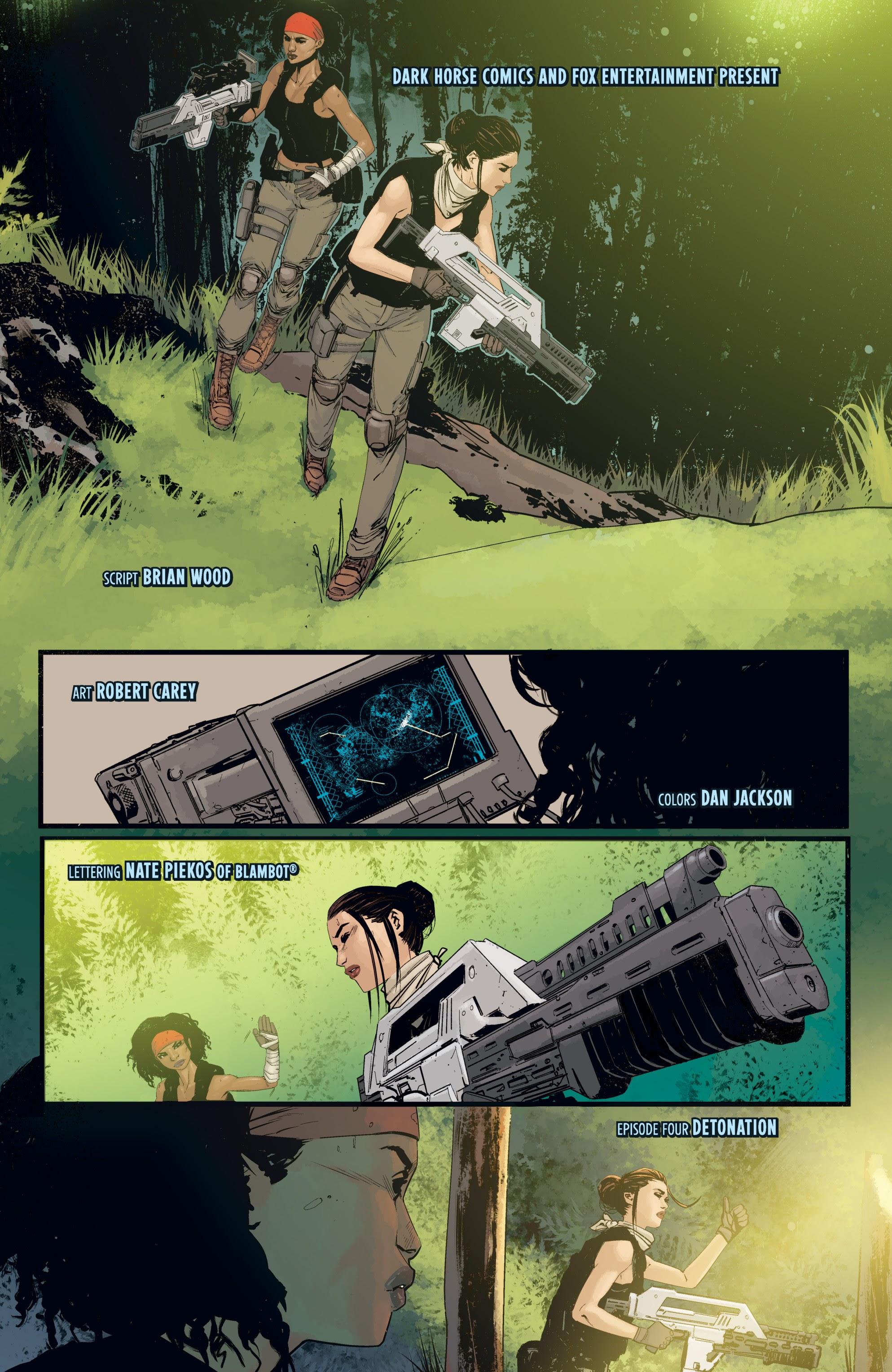 Read online Aliens: Resistance comic -  Issue # _TPB - 77