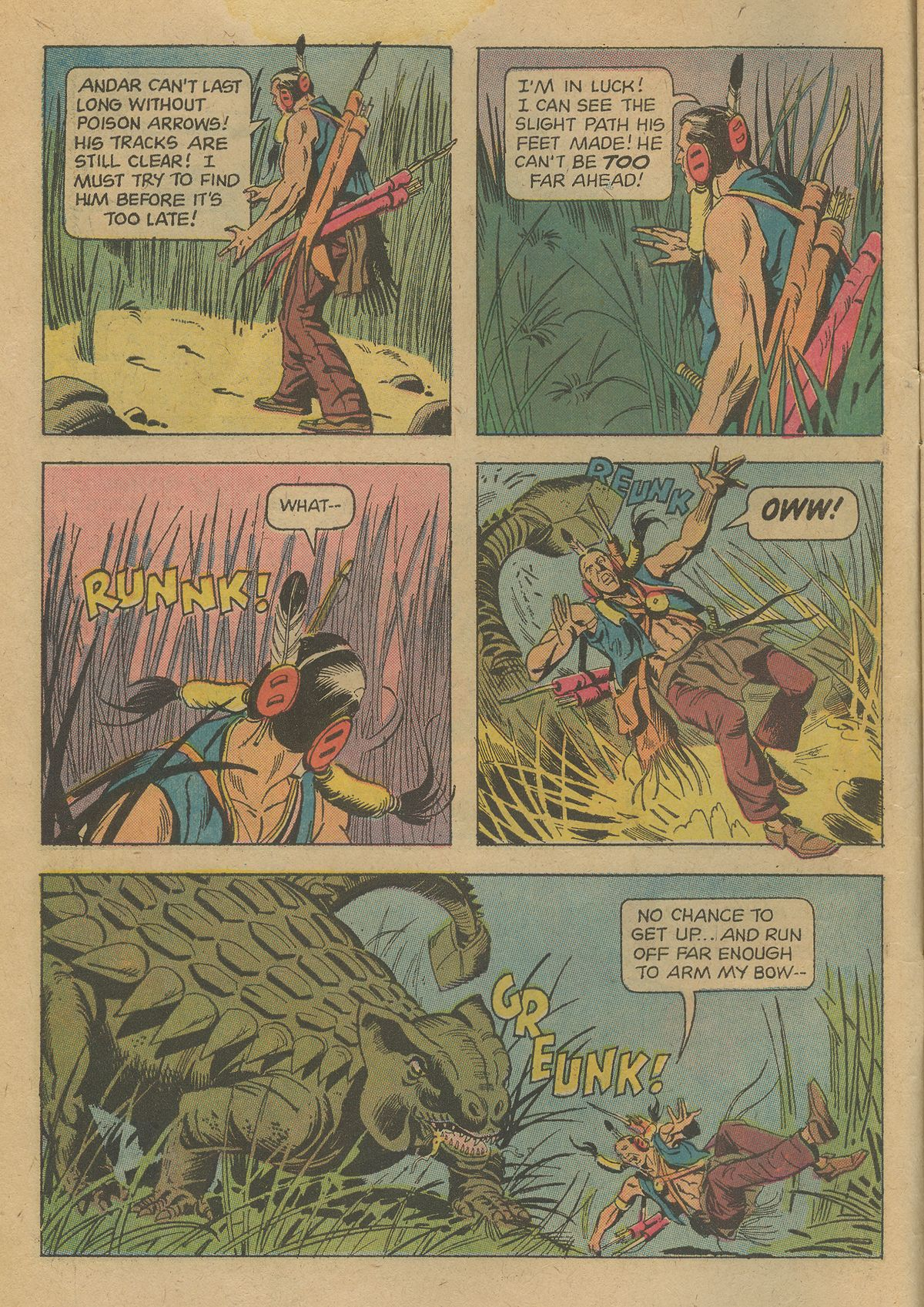 Read online Turok, Son of Stone comic -  Issue #96 - 6