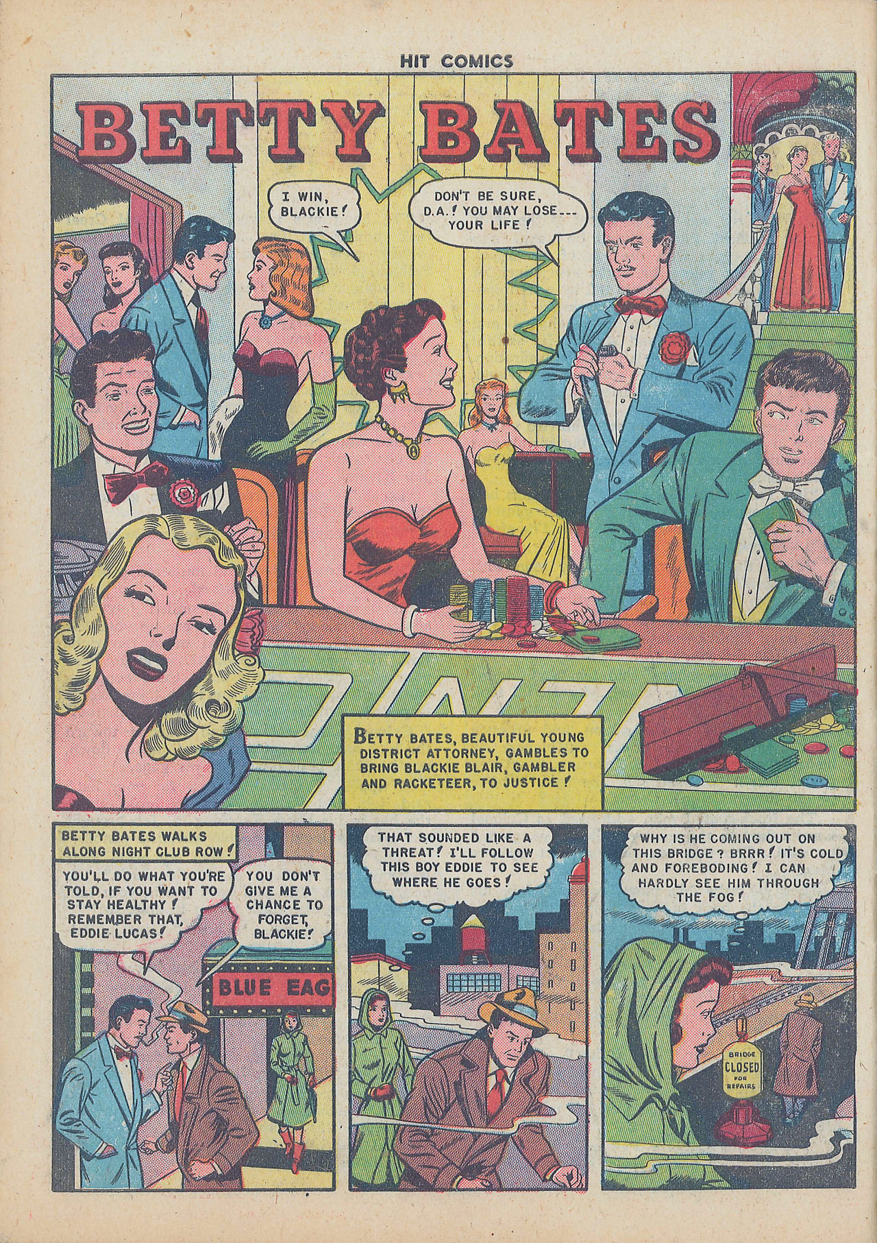 Read online Hit Comics comic -  Issue #64 - 28