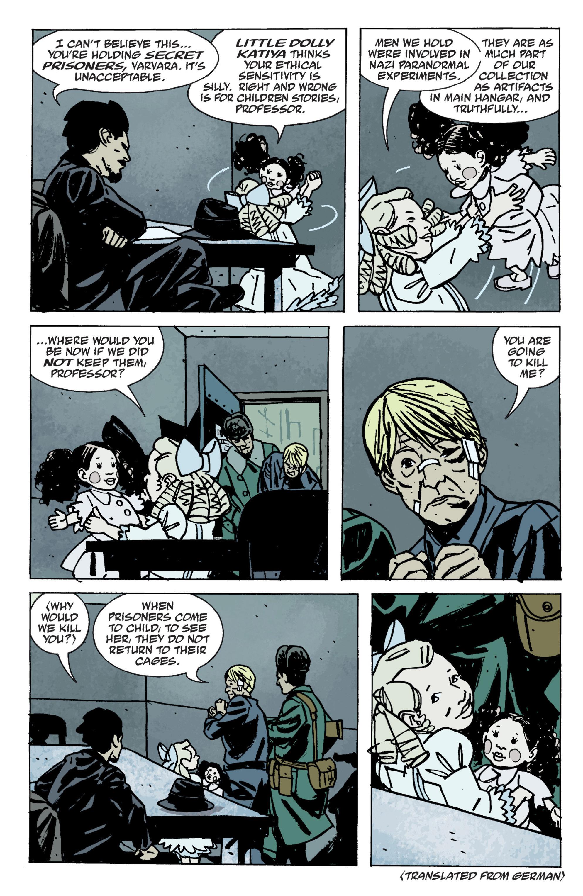 Read online B.P.R.D. (2003) comic -  Issue # TPB 9 - 88