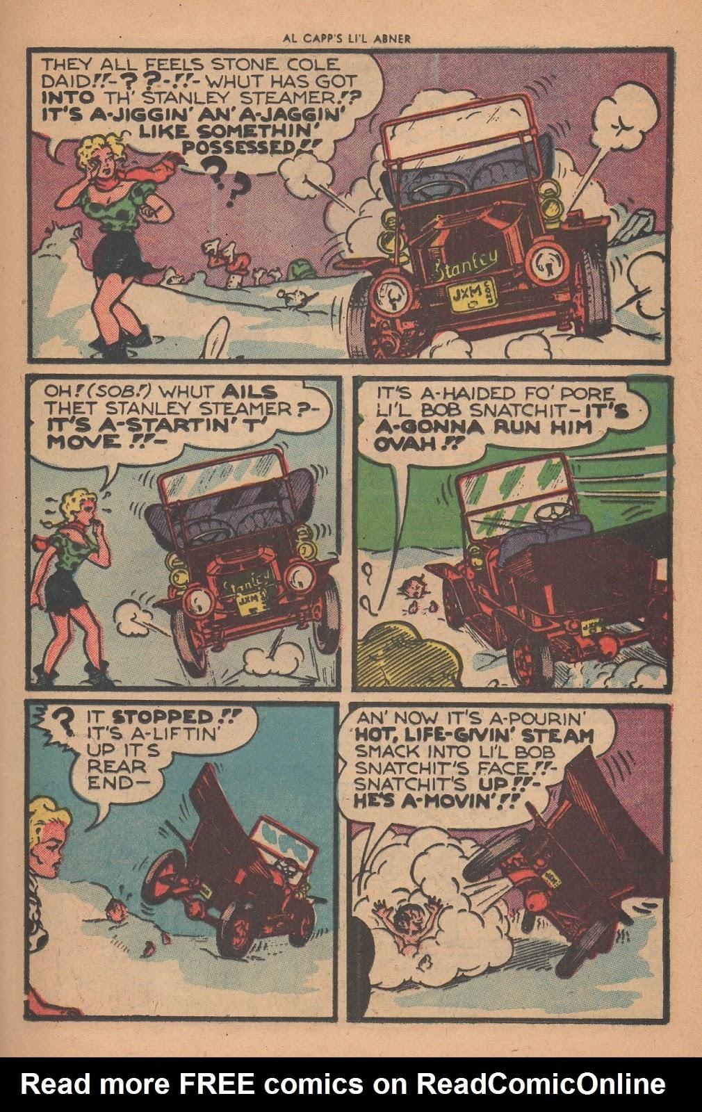 Li'l Abner Comics issue 77 - Page 25