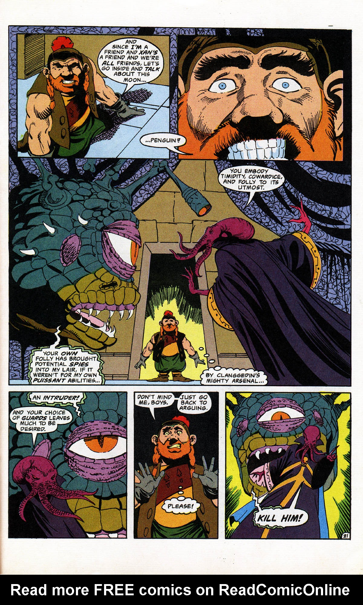 Read online Advanced Dungeons & Dragons comic -  Issue #11 - 26