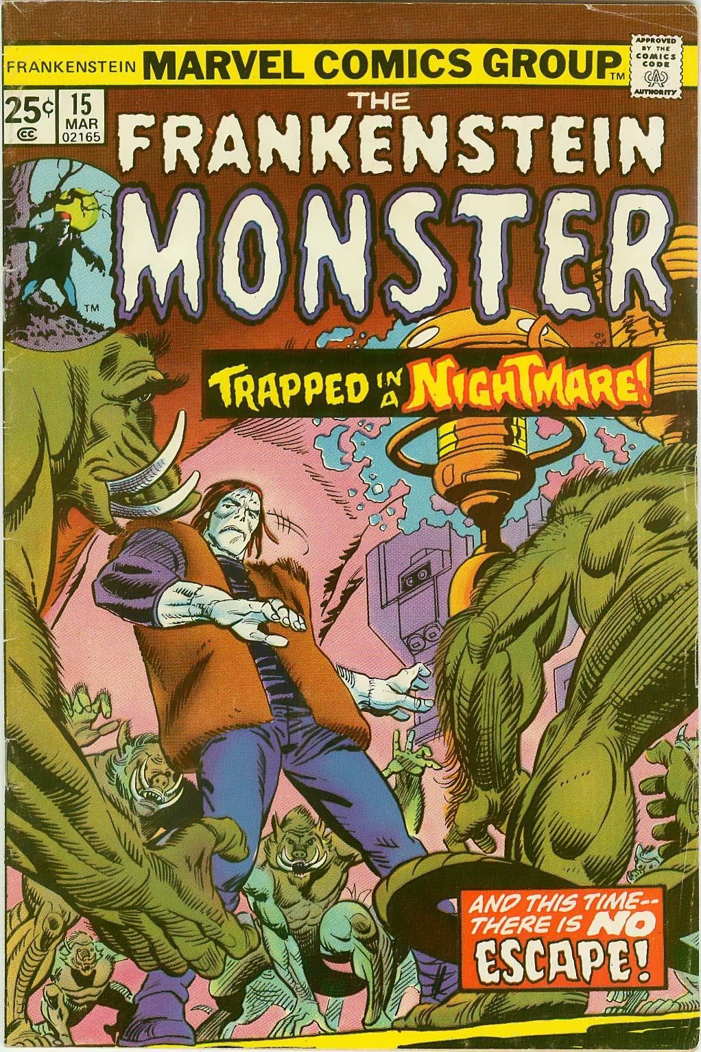 Frankenstein (1973) issue 15 - Page 1