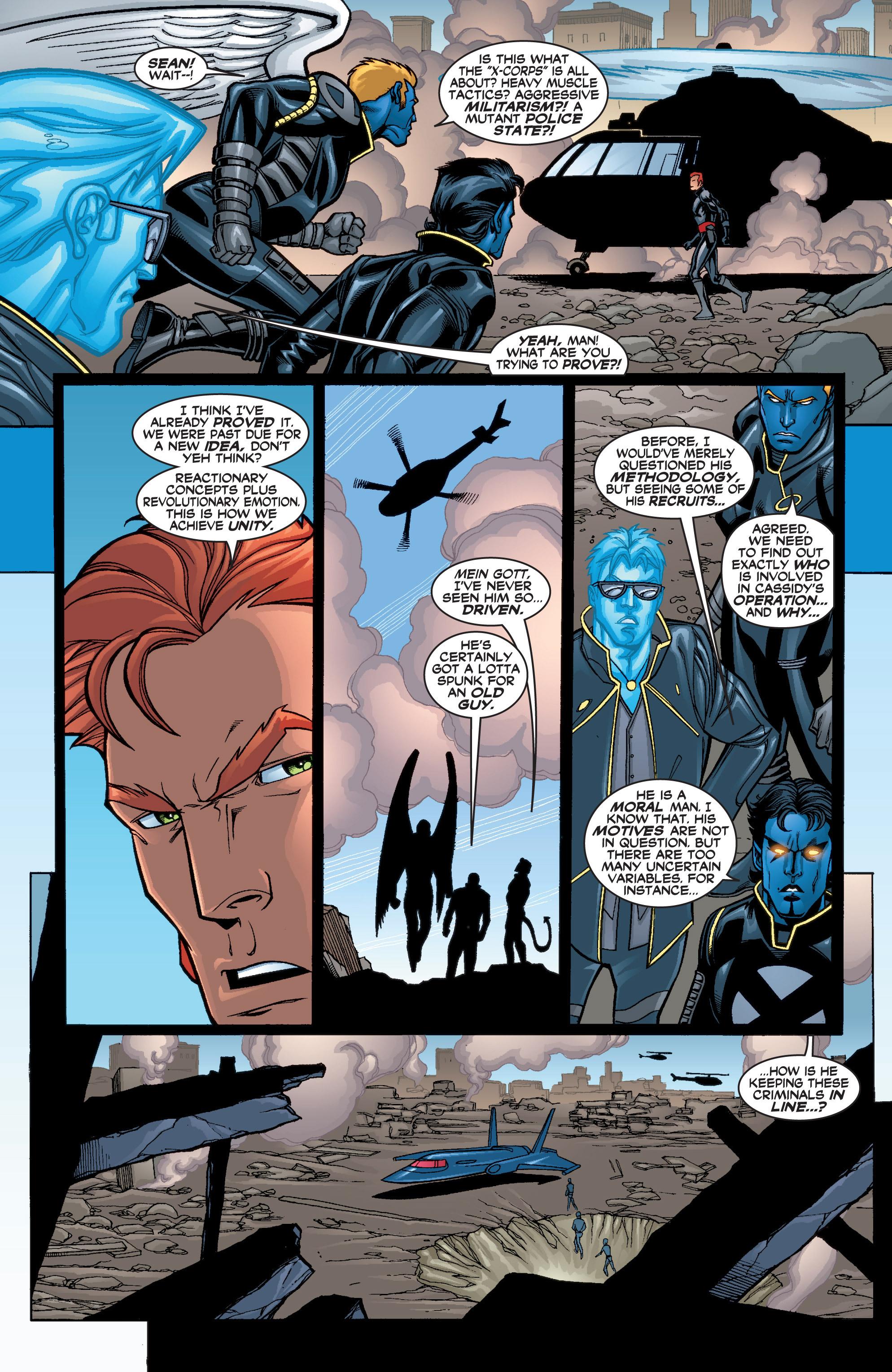 Read online Uncanny X-Men (1963) comic -  Issue #402 - 18