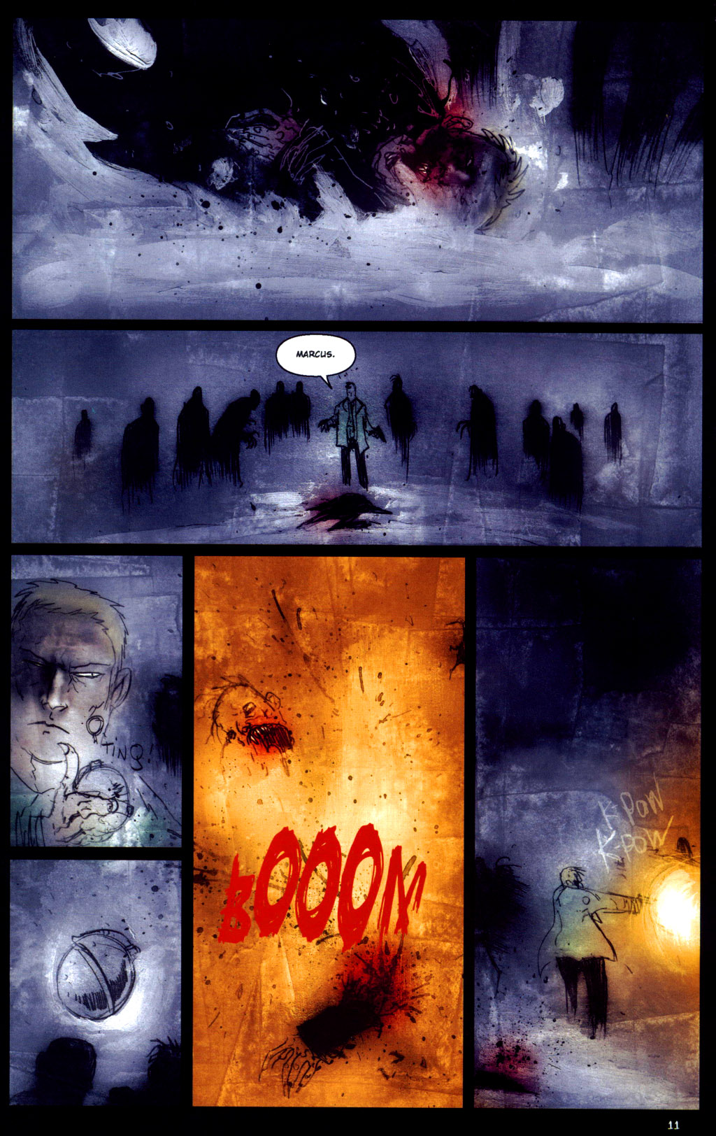 Read online 30 Days of Night: Return to Barrow comic -  Issue #6 - 13